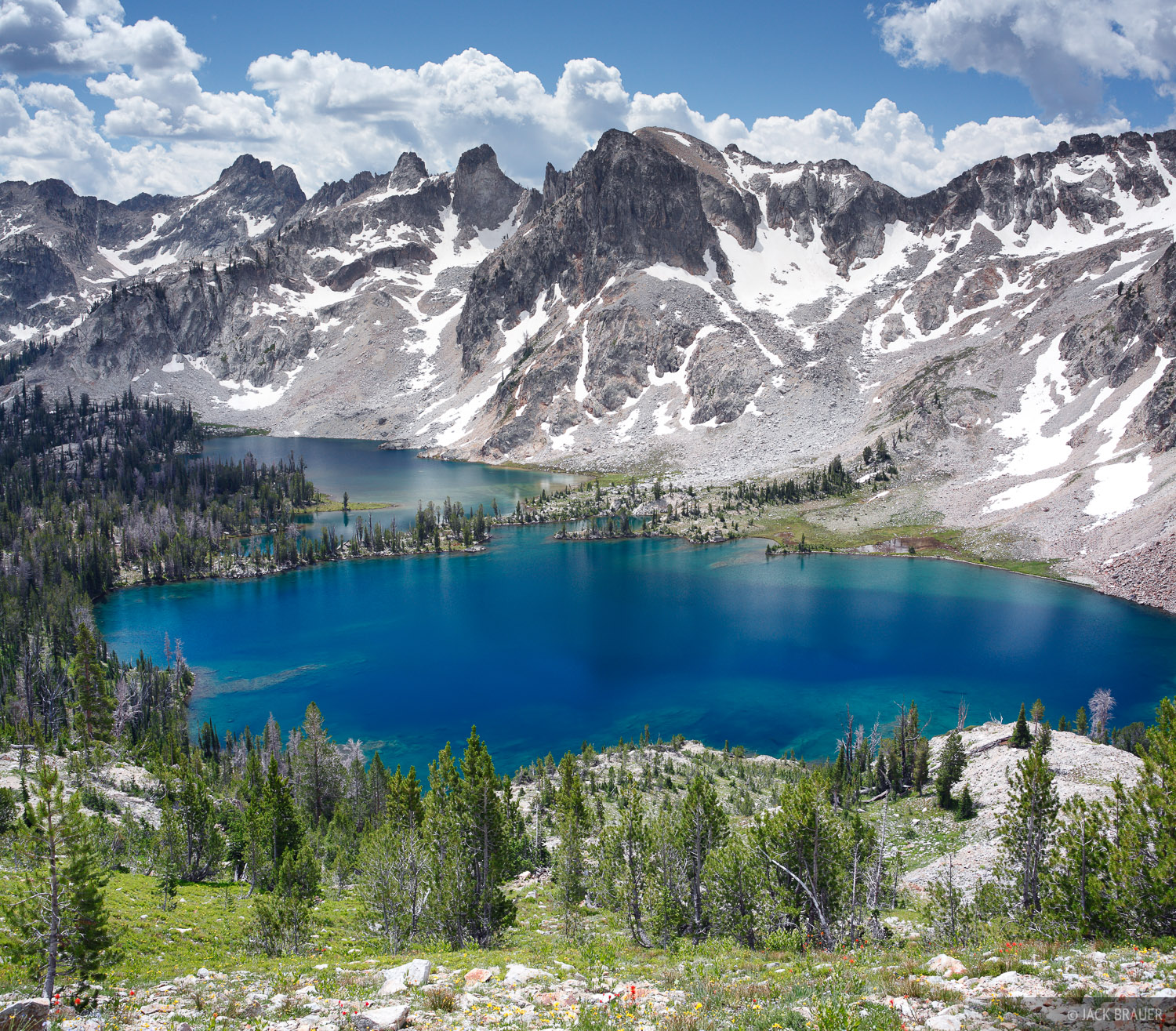 Idaho,Sawtooths, Twin Lakes, photo