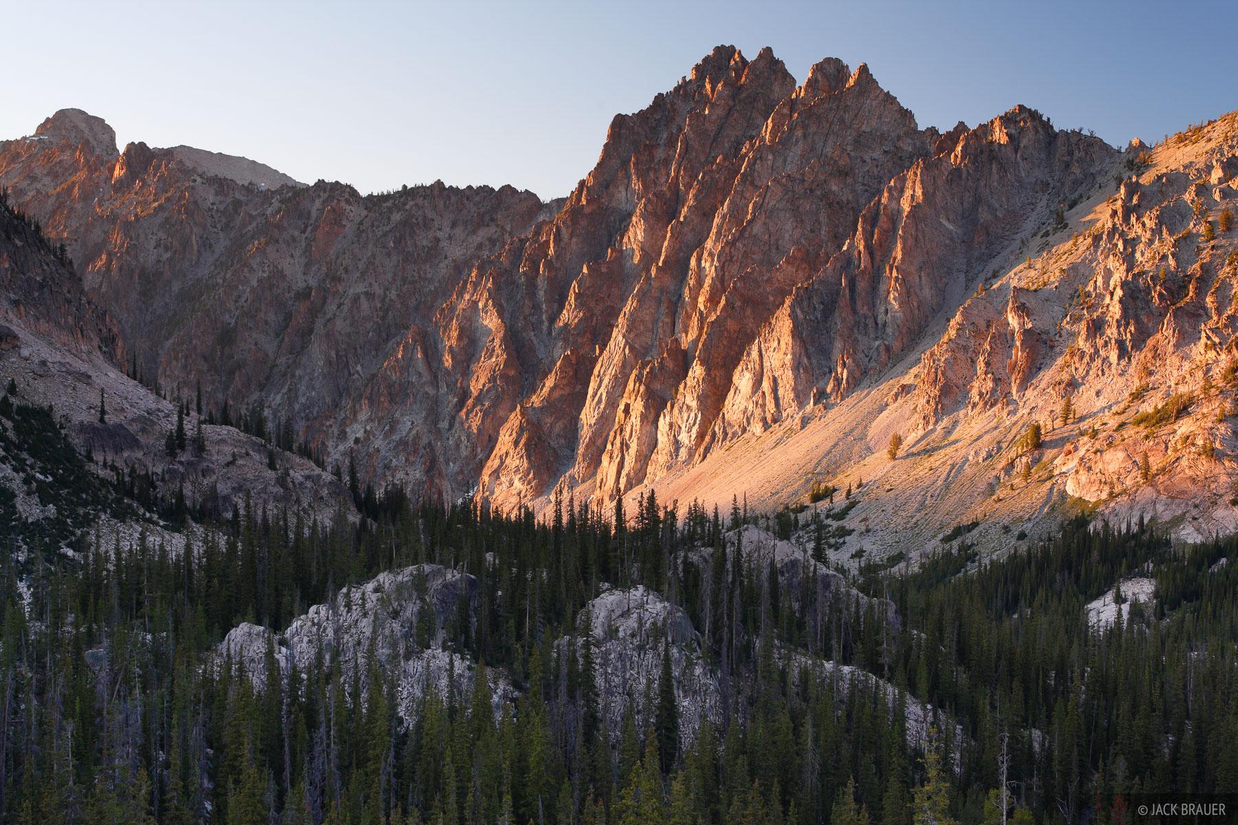 Baron Creek, Sawtooth Mountains, Idaho, photo
