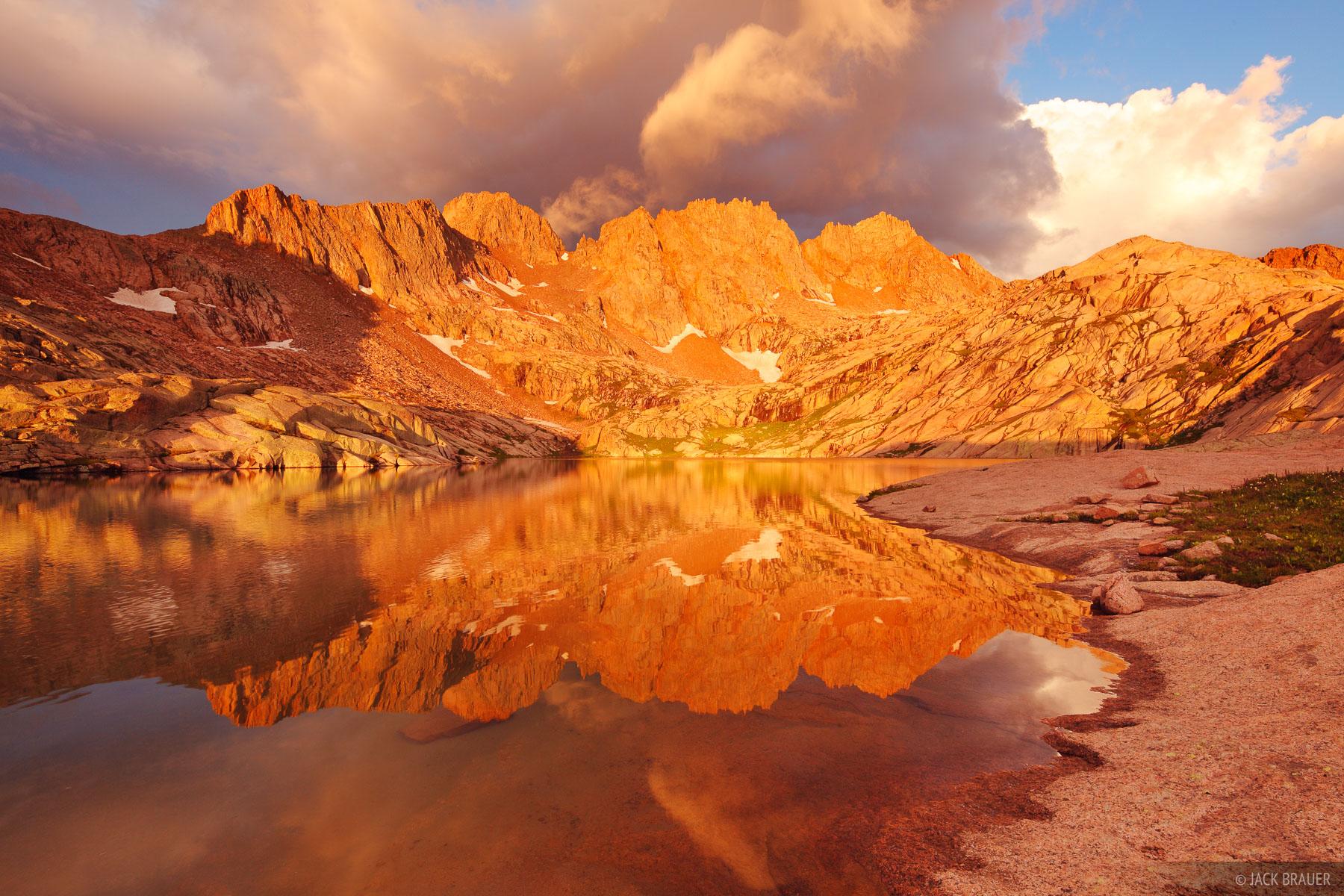 Sunlight Peak, Windom Peak, San Juan Mountains, Colorado, photo
