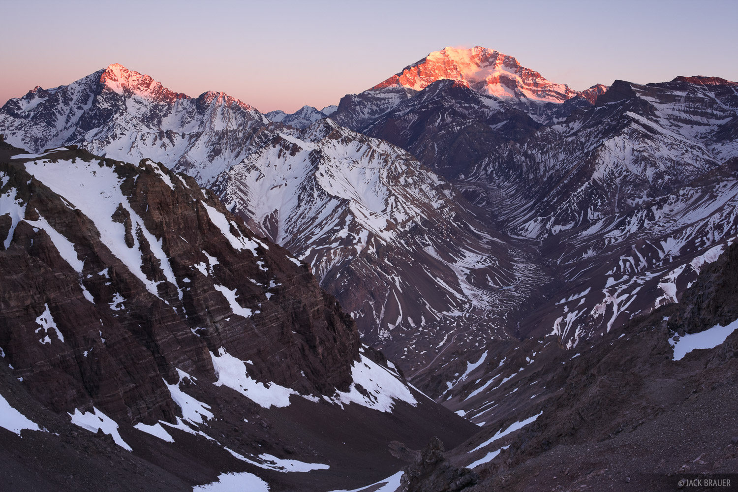 Aconcagua,Argentina,South America, Rio Horcones, Andes, photo