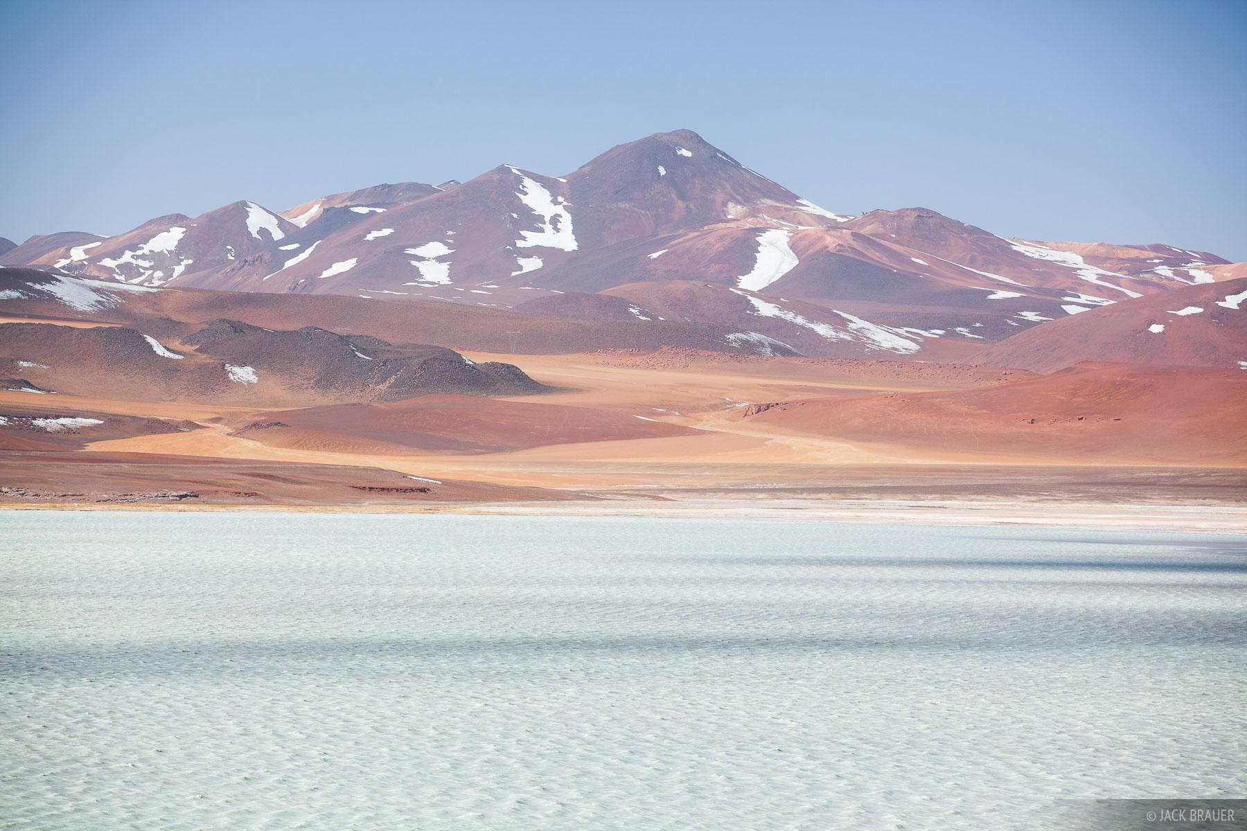 A barren and windy landscape high above the Atacama Desert.
