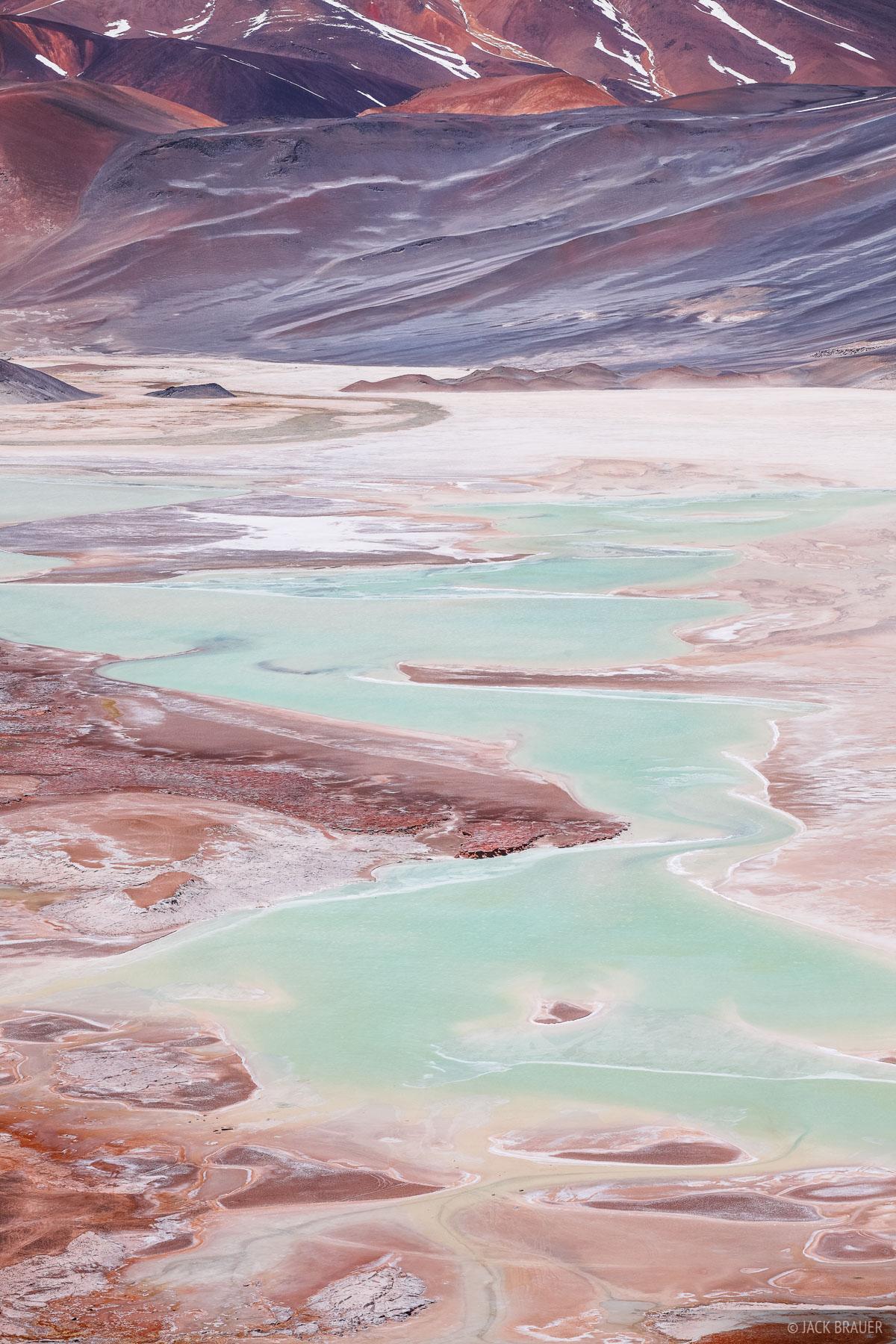 Surreal forms of Salar de Aguas Calientes.