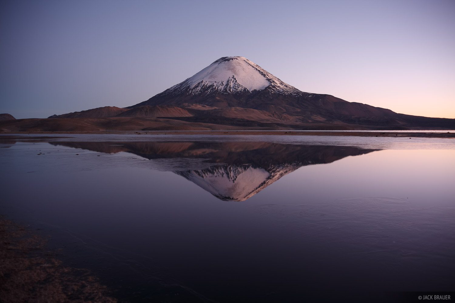 Parinacota, Lauca, Chungara, Chile, volcano, photo