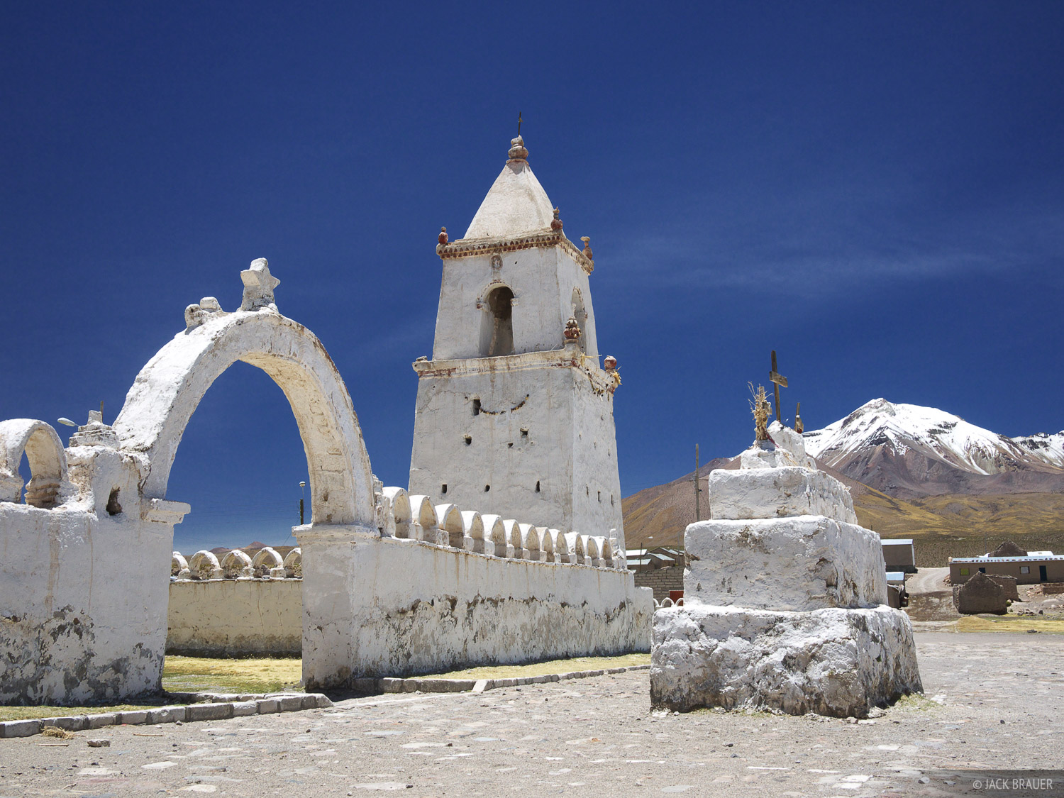 Isluga, Northern Chile, Iglesia, church, altiplano, photo