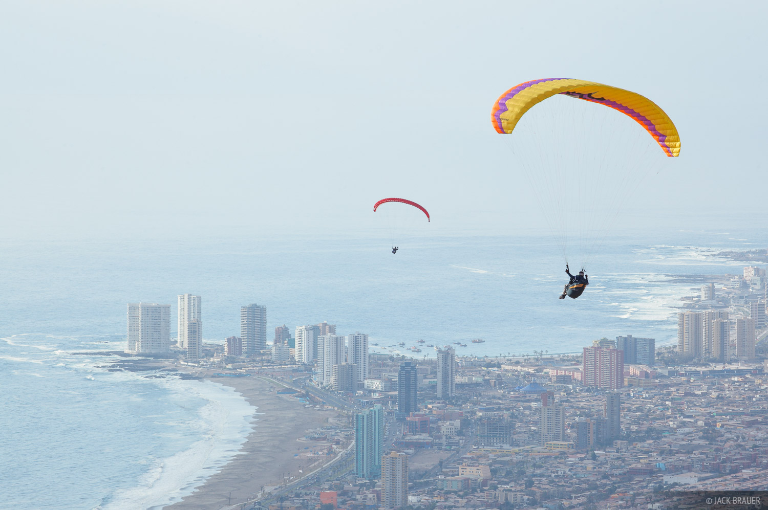 Chile,Iquique,South America, paragliding, photo