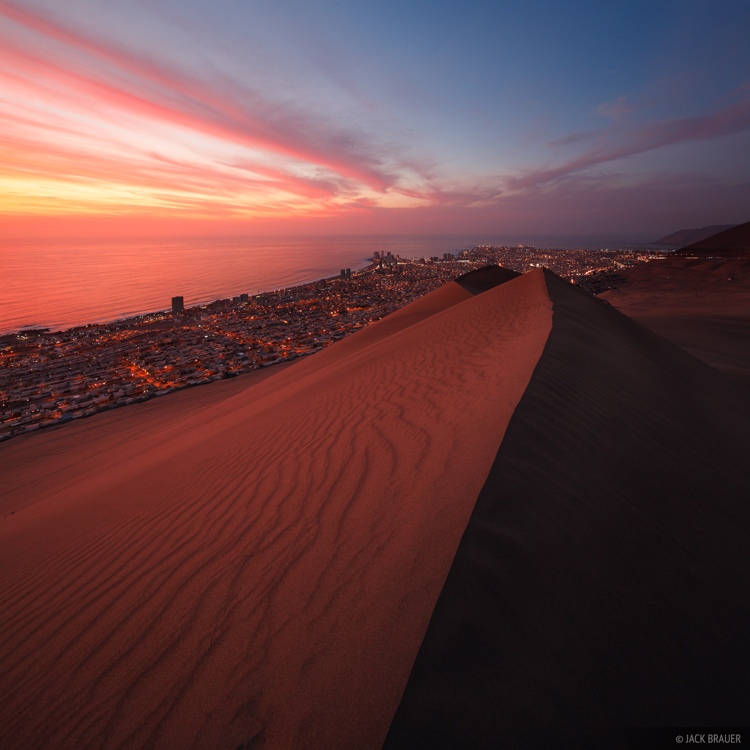 Cerro Dragon, Iquique, Chile, dune, photo