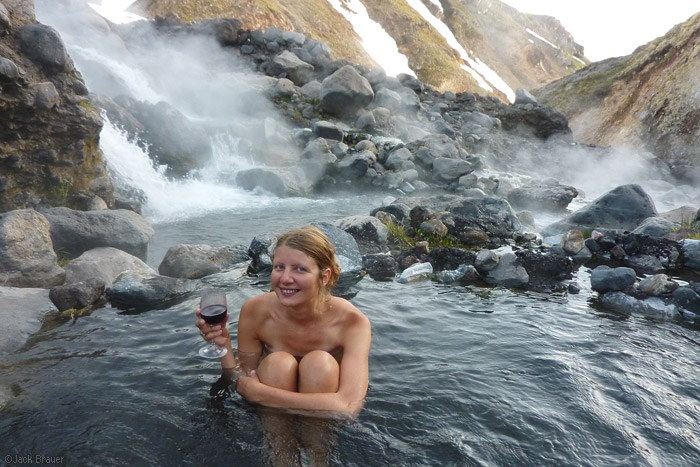 Wine and hot springs.