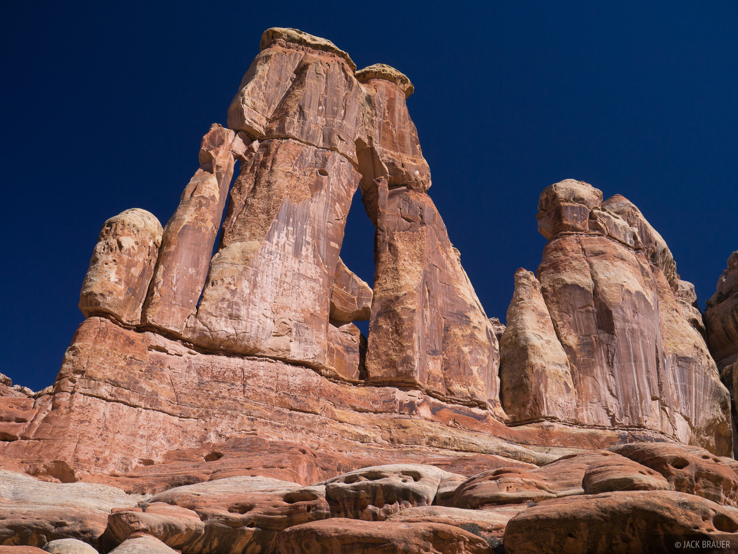 Canyonlands National Park, Utah, Needles District, Druid Arch, photo