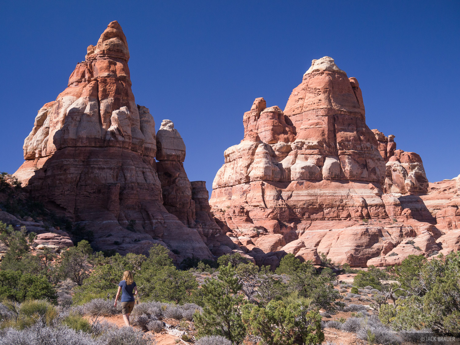 Canyonlands National Park, Utah, Needles District, hiking, photo