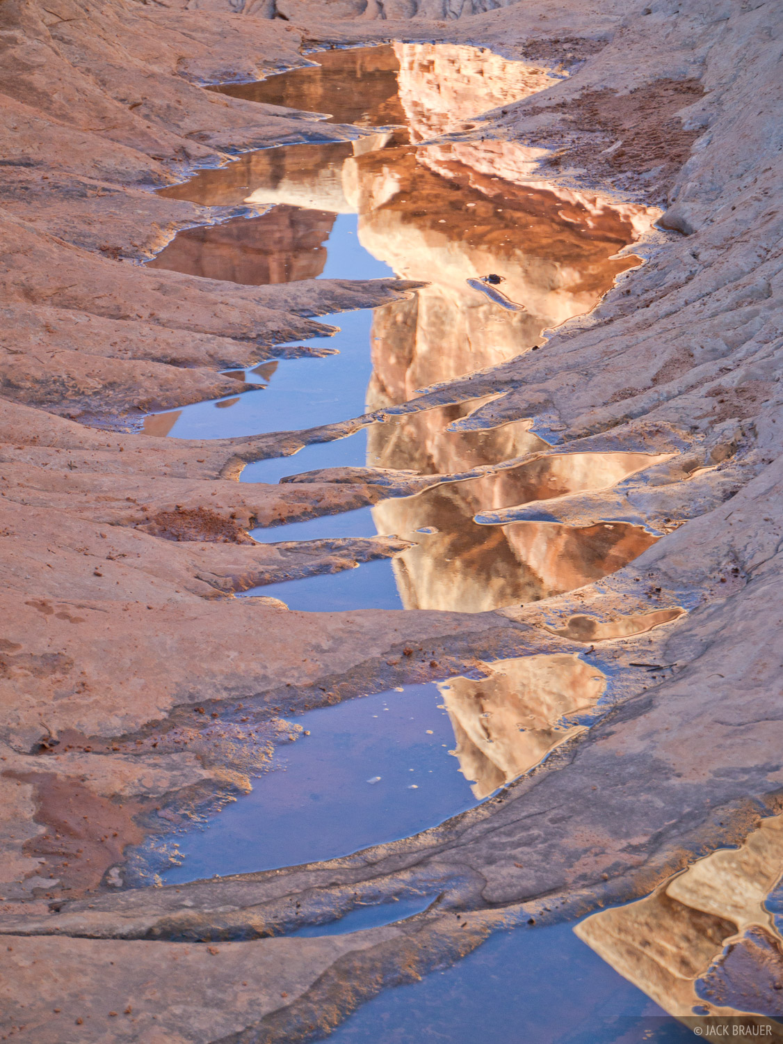 Elephant Canyon, Needles District, Canyonlands, Utah, reflection, photo