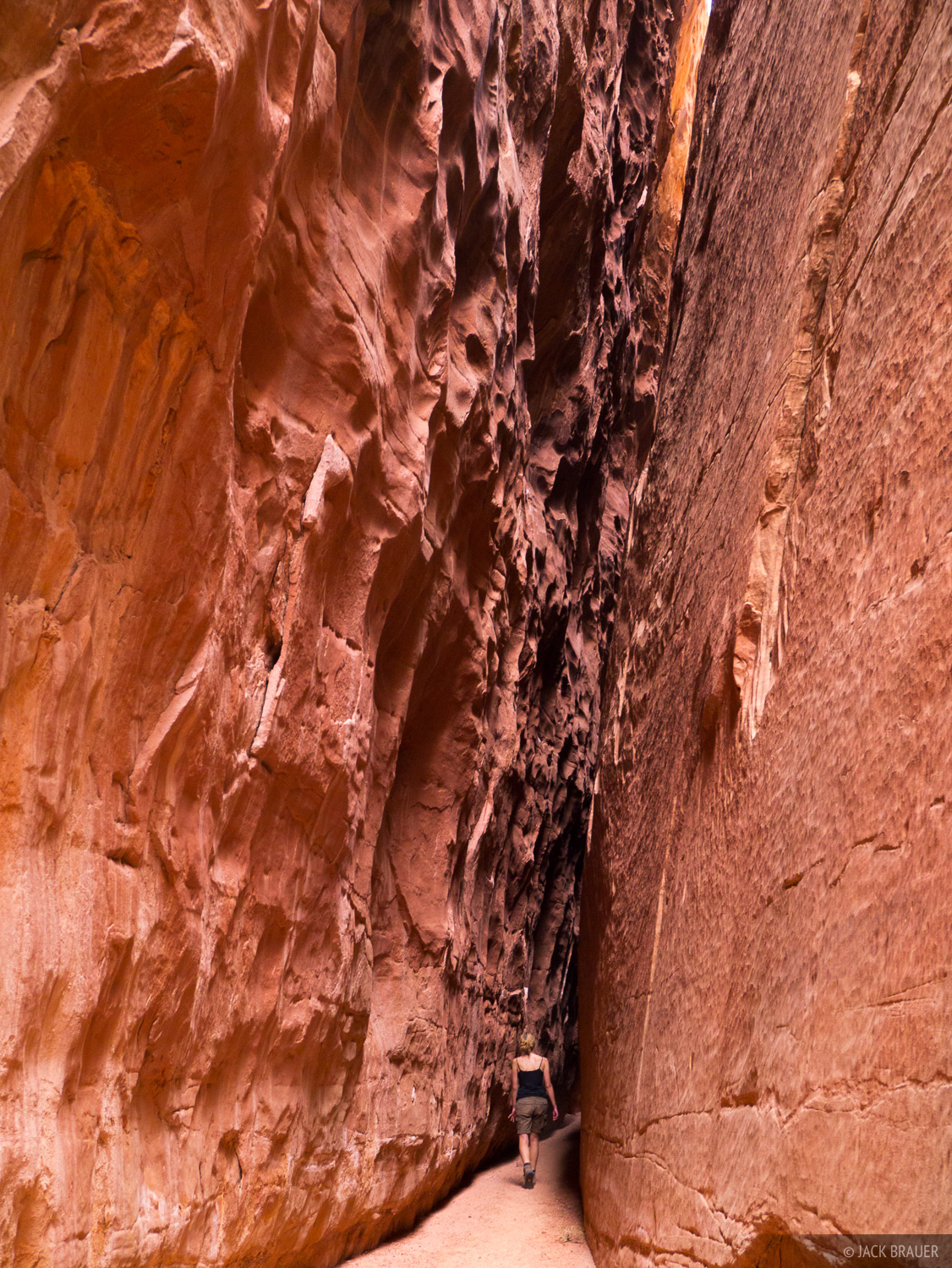 Robbers Roost Canyon, Utah, March, hiking, slot, photo