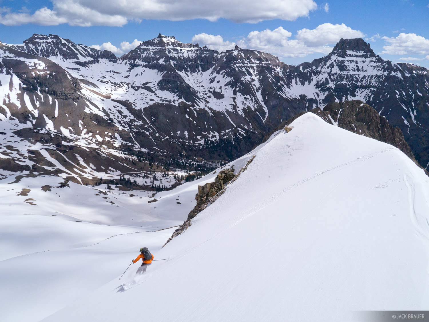 skiing, San Juan Mountains, Colorado, photo