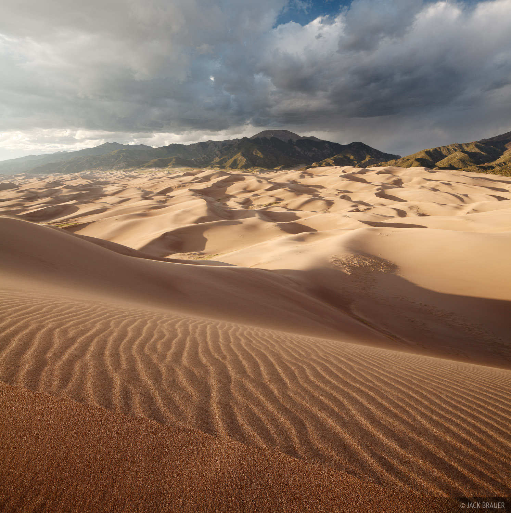 Colorado,Great Sand Dunes,dunes, Sangre de Cristos, photo