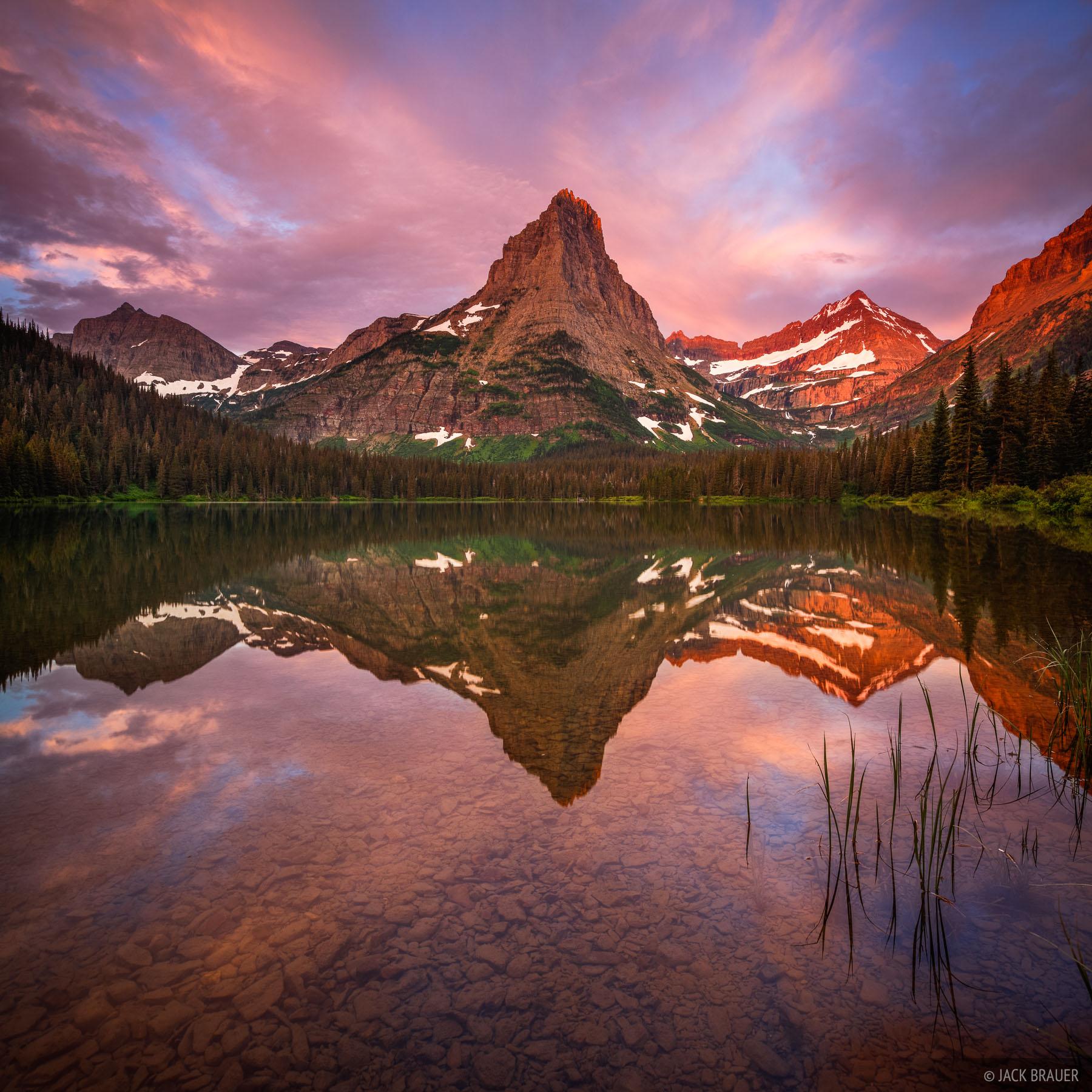 Pyramid Peak Sunrise