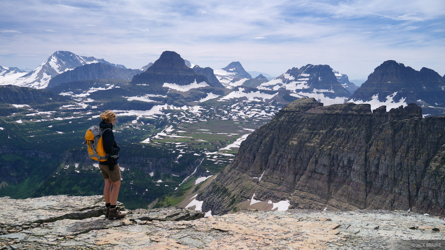 Piegan Pass, Glacier National Park, Montana, hiking, Going to the Sun road, Logan Pass, photo