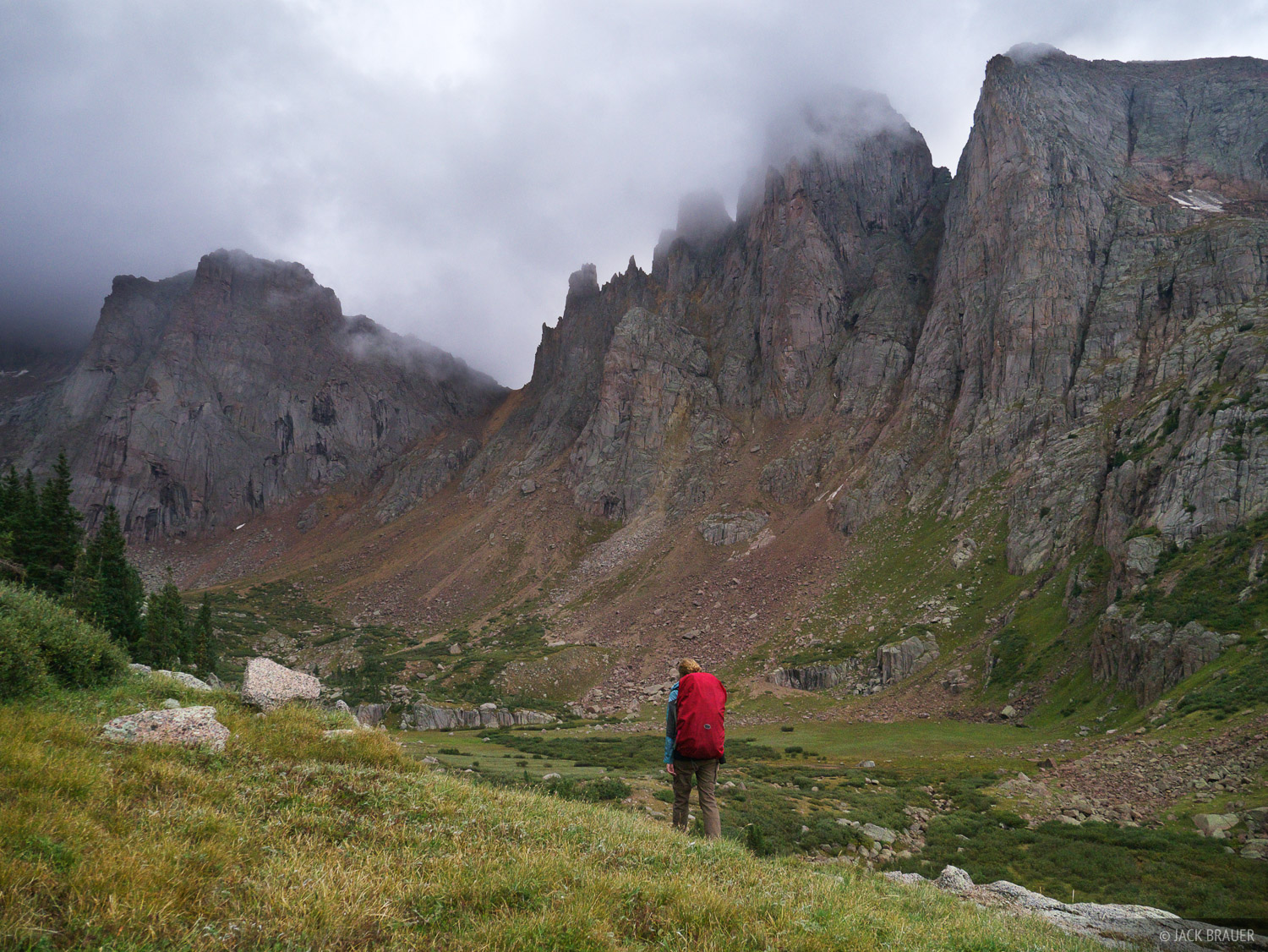 hiking, San Juan Mountains, Colorado, Needle Mountains, photo