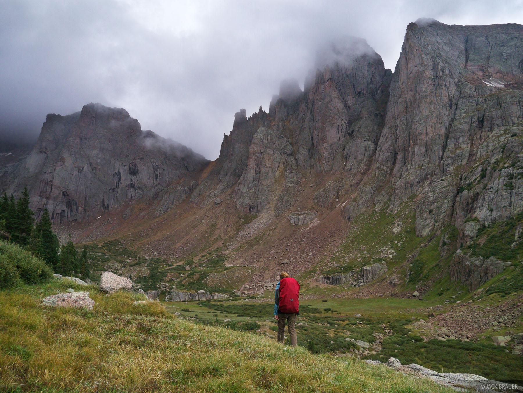 hiking, San Juan Mountains, Colorado, Needle Mountains, August, Weminuche, Weminuche Wilderness, active, 2012