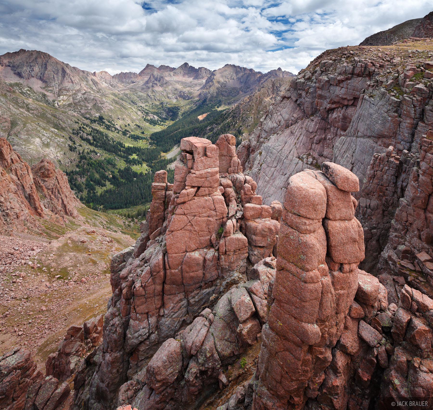Chicago Basin, San Juan Mountains, Colorado, photo