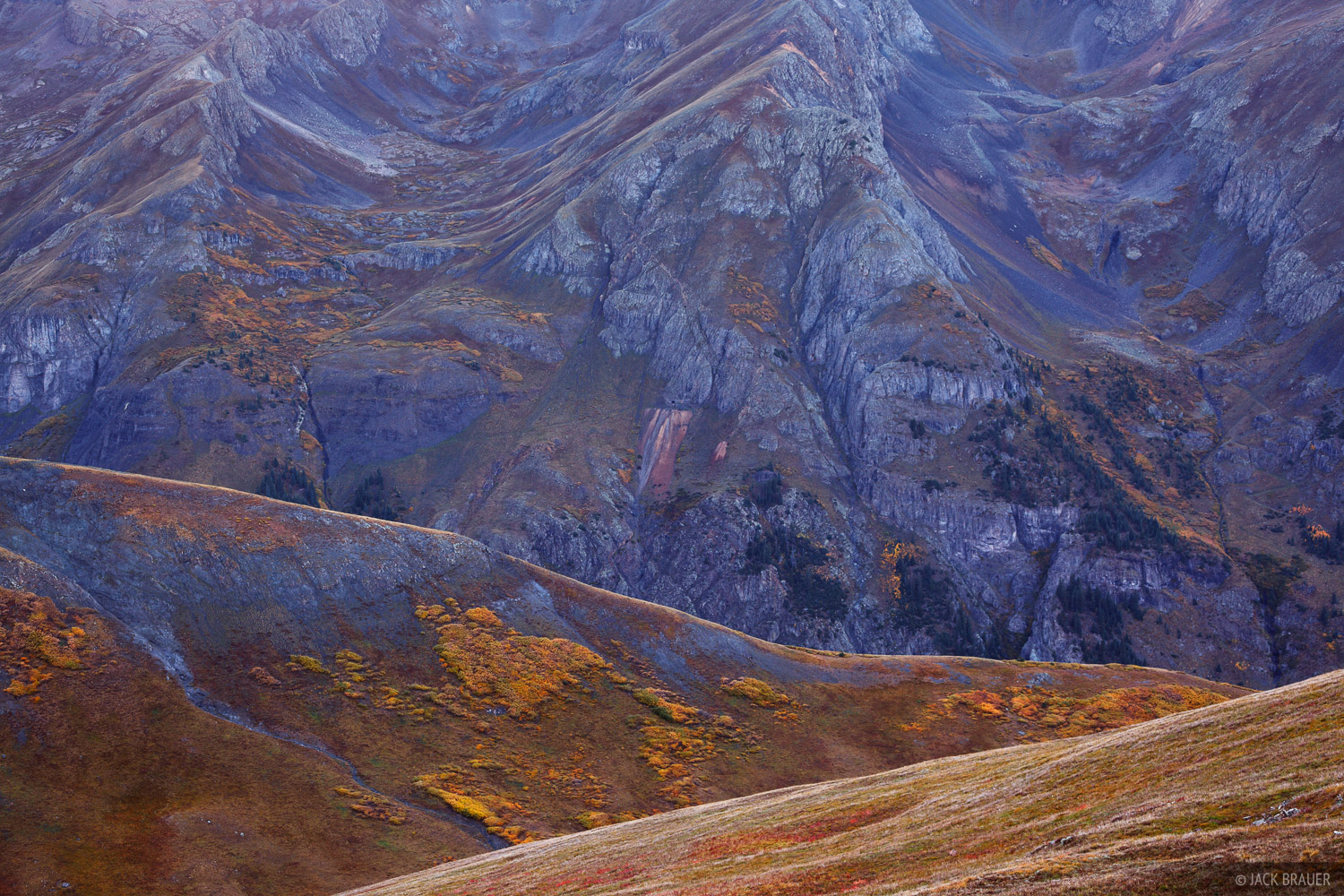 Silverton, Stony Pass, abstract, San Juan Mountains, Colorado, photo