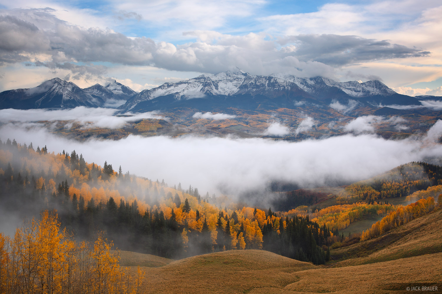 Wilson Mesa, Wilson Peak, autumn, Last Dollar Road, September, San Juan Mountains, Colorado, photo