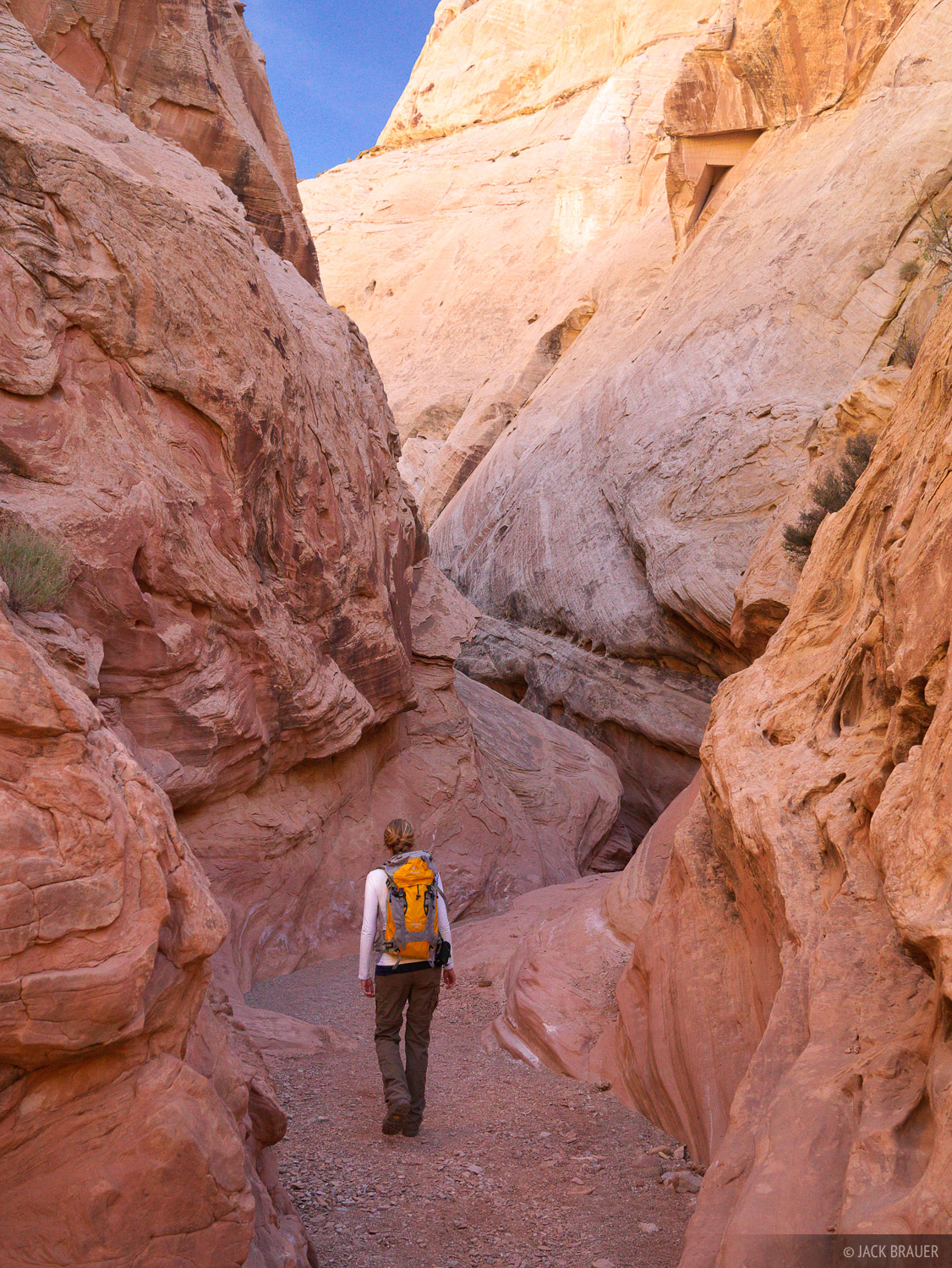 Little Wildhorse Canyon, San Rafael Swell, Utah, hiking, photo