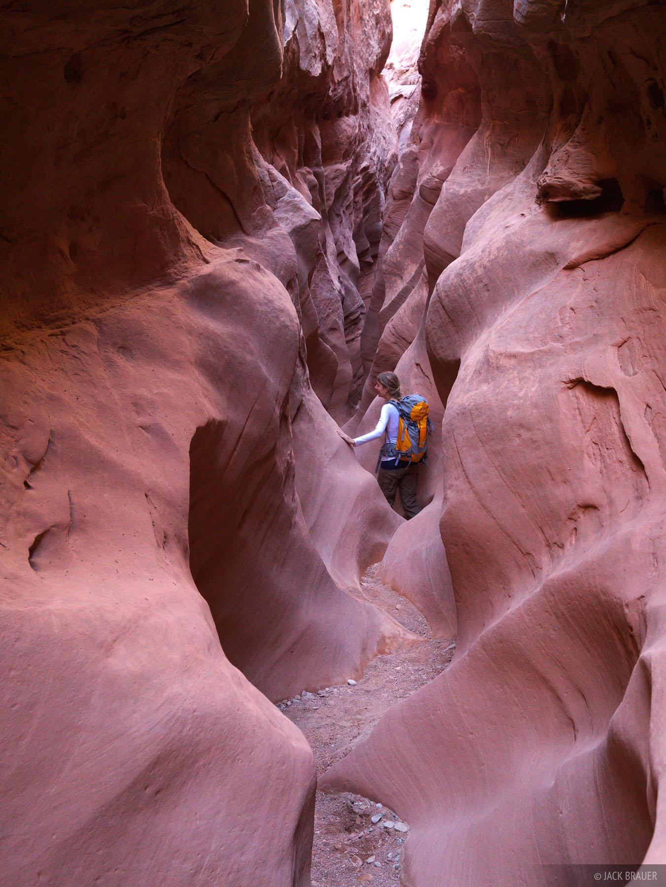 Little Wildhorse Canyon, San Rafael Swell, Utah, hiking, October, canyon, desert, slot, slot canyon, active, 2012