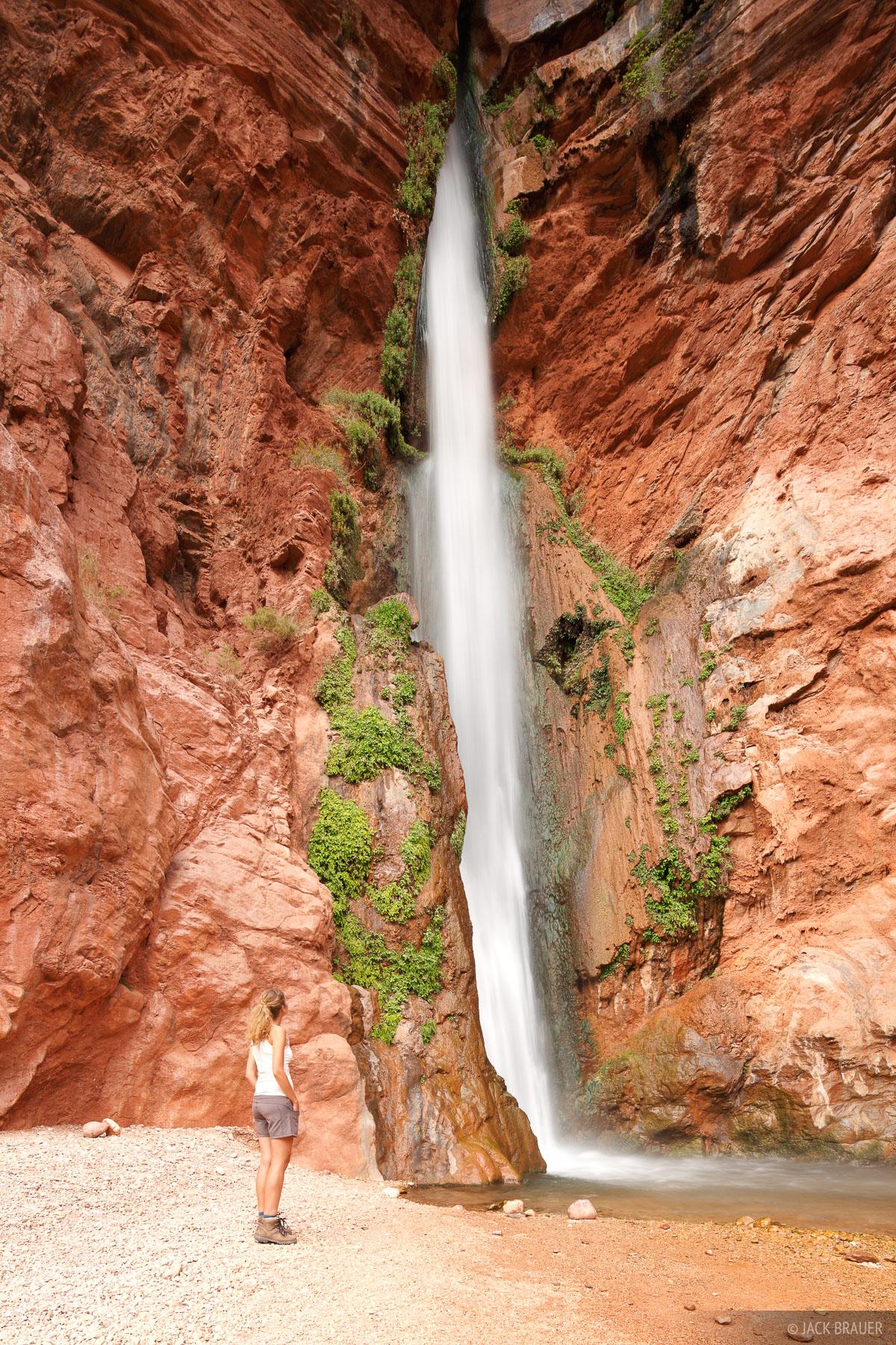 Deer Creek, waterfall, Grand Canyon, Arizona, photo