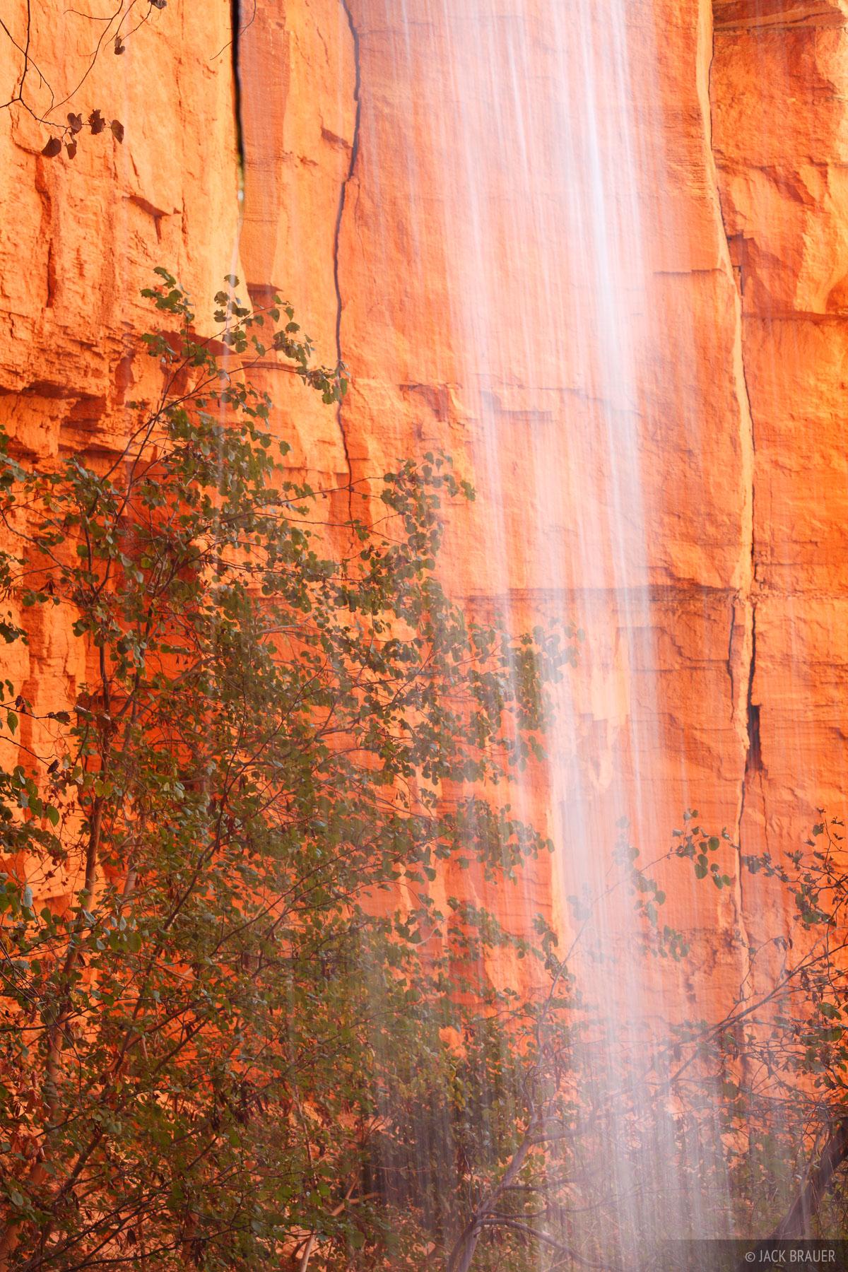 Deer Spring, Grand Canyon, Arizona, abstract, waterfall, photo