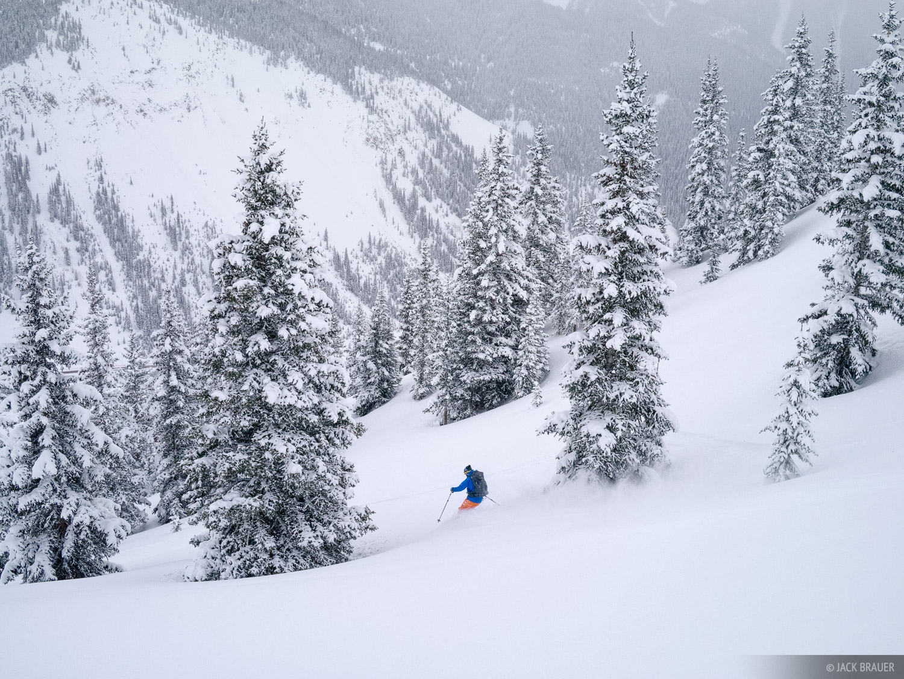 Skier: Jake Evans