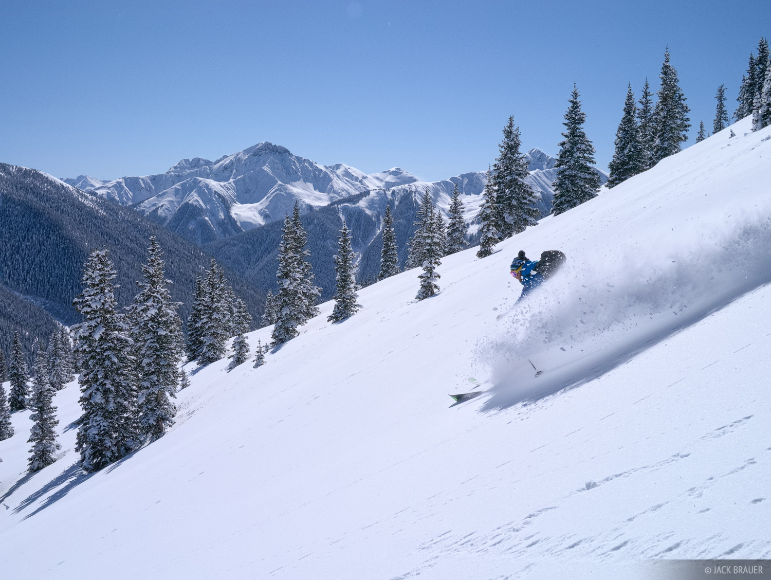 Red Mountain Pass, Sultan Mountain, ski, San Juan Mountains, Colorado, photo