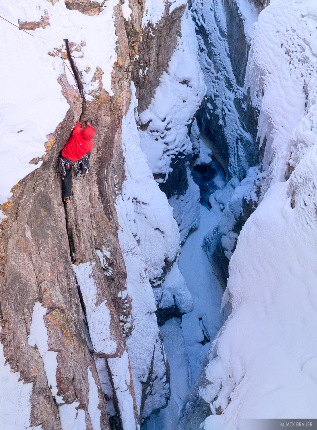 Ouray Ice Park, Colorado, Dan Chehayl, climbing, photo