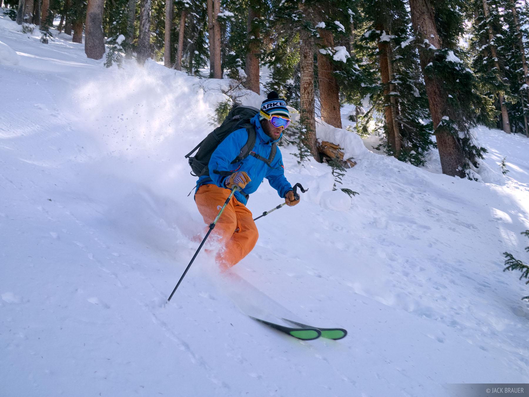 skiing, San Juan Mountains, Colorado, photo