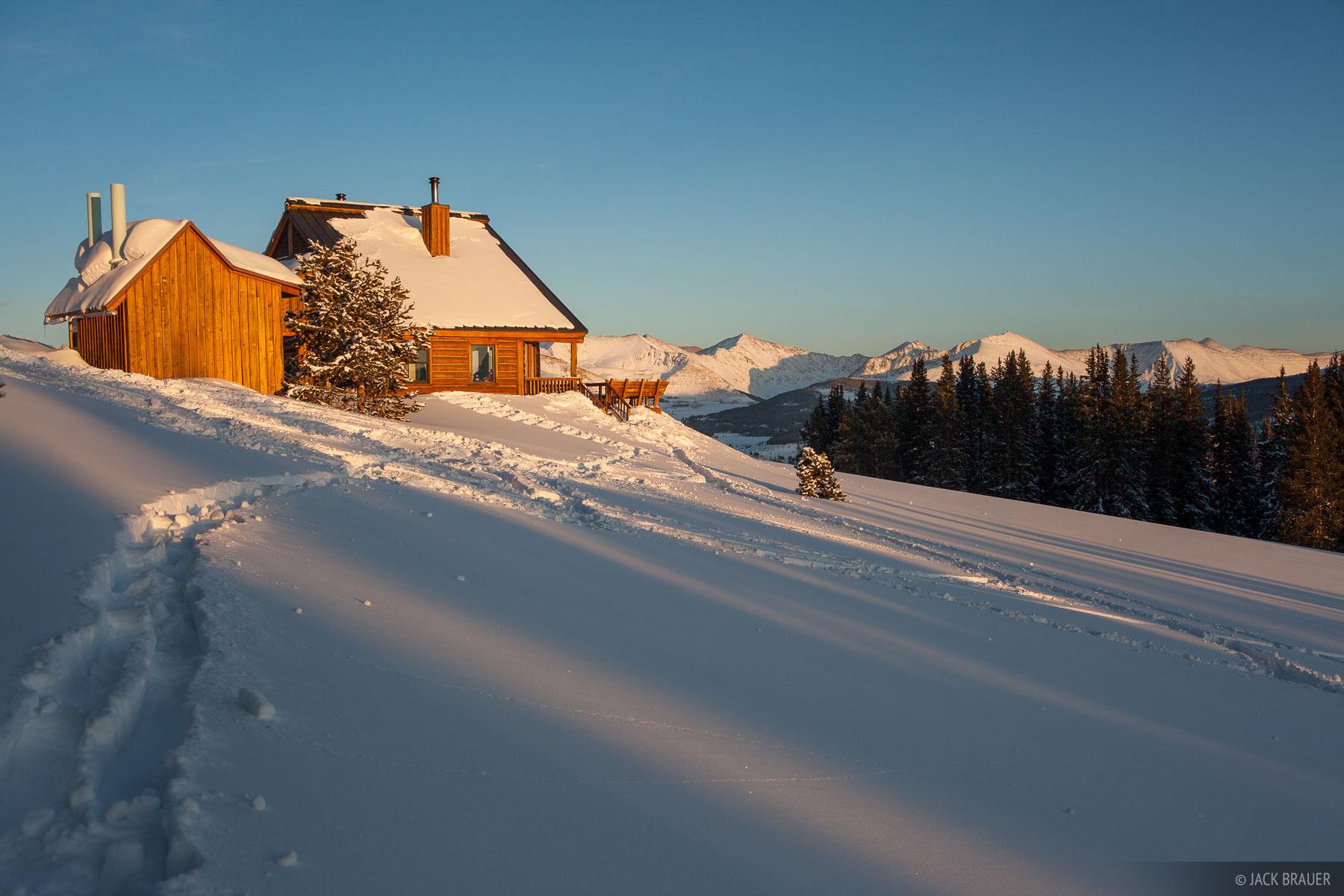 Colorado,Gore Range,hut, Jackal Hut, photo