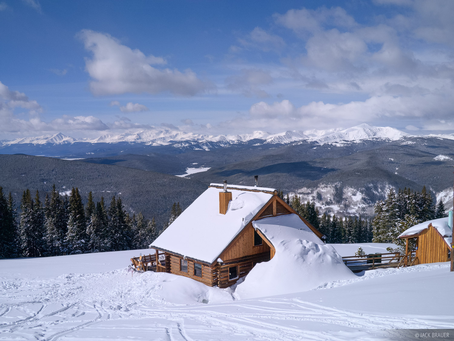 Jackal Hut, Gore Range, Mt. Elbert, Sawatch Range, Colorado, winter, photo