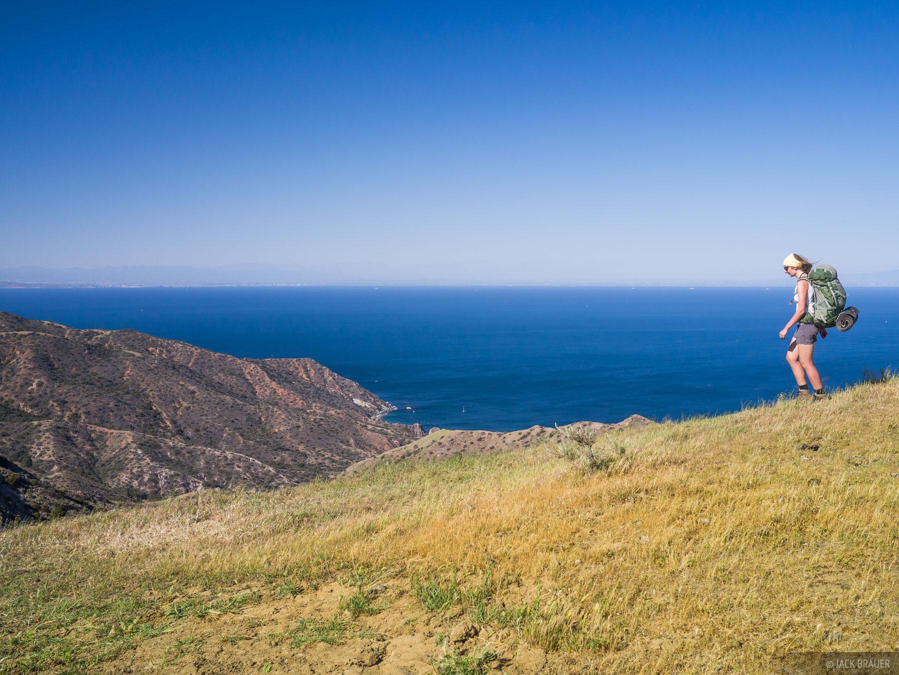 California, Catalina Island, Catalina, hiking, photo