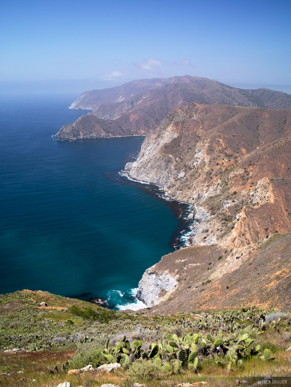 Catalina Island, Trans Catalina Trail, Pacific Ocean, photo