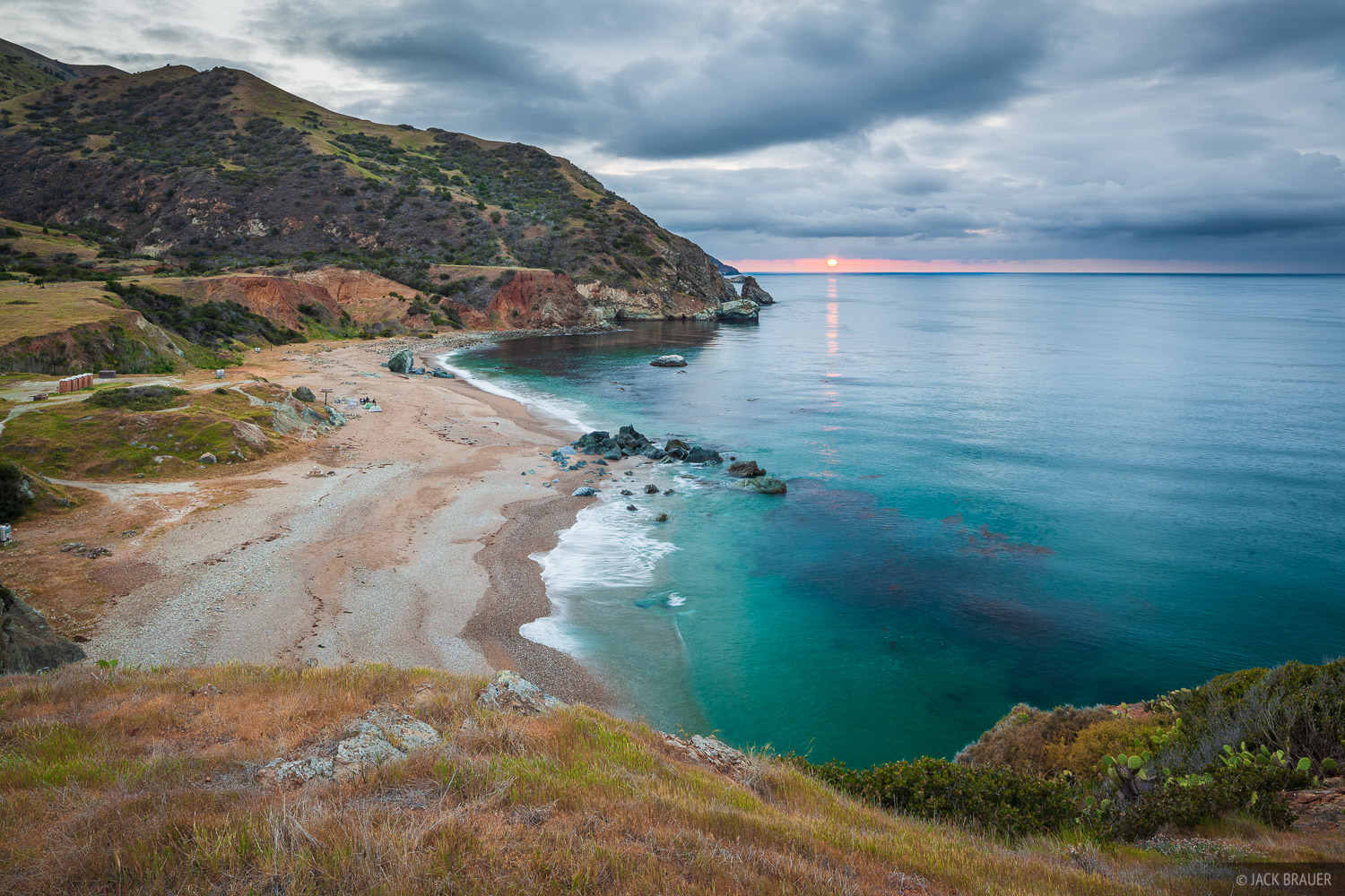 Parsons Landing, Catalina Island, California, sunset, beach, photo