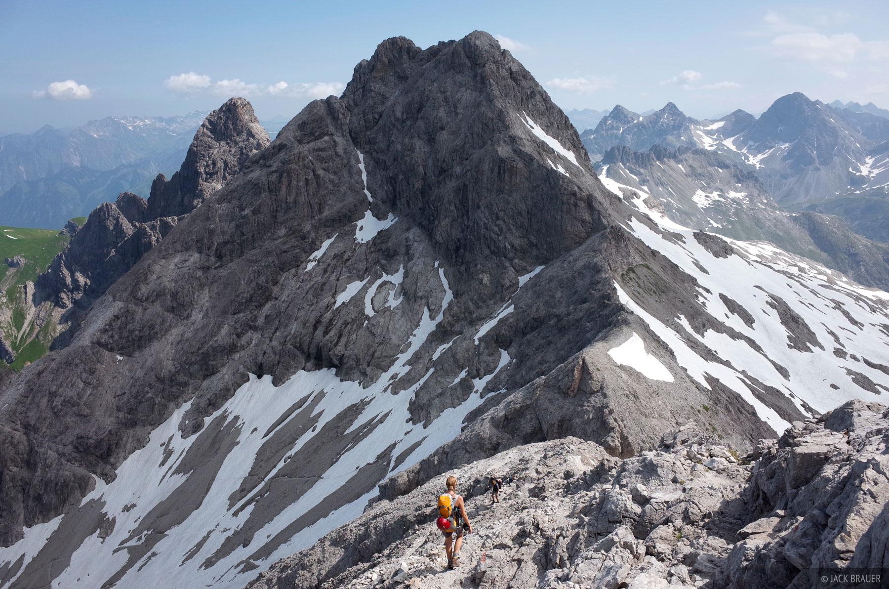 Allgäuer Alps, Germany, Mädelegabel, photo