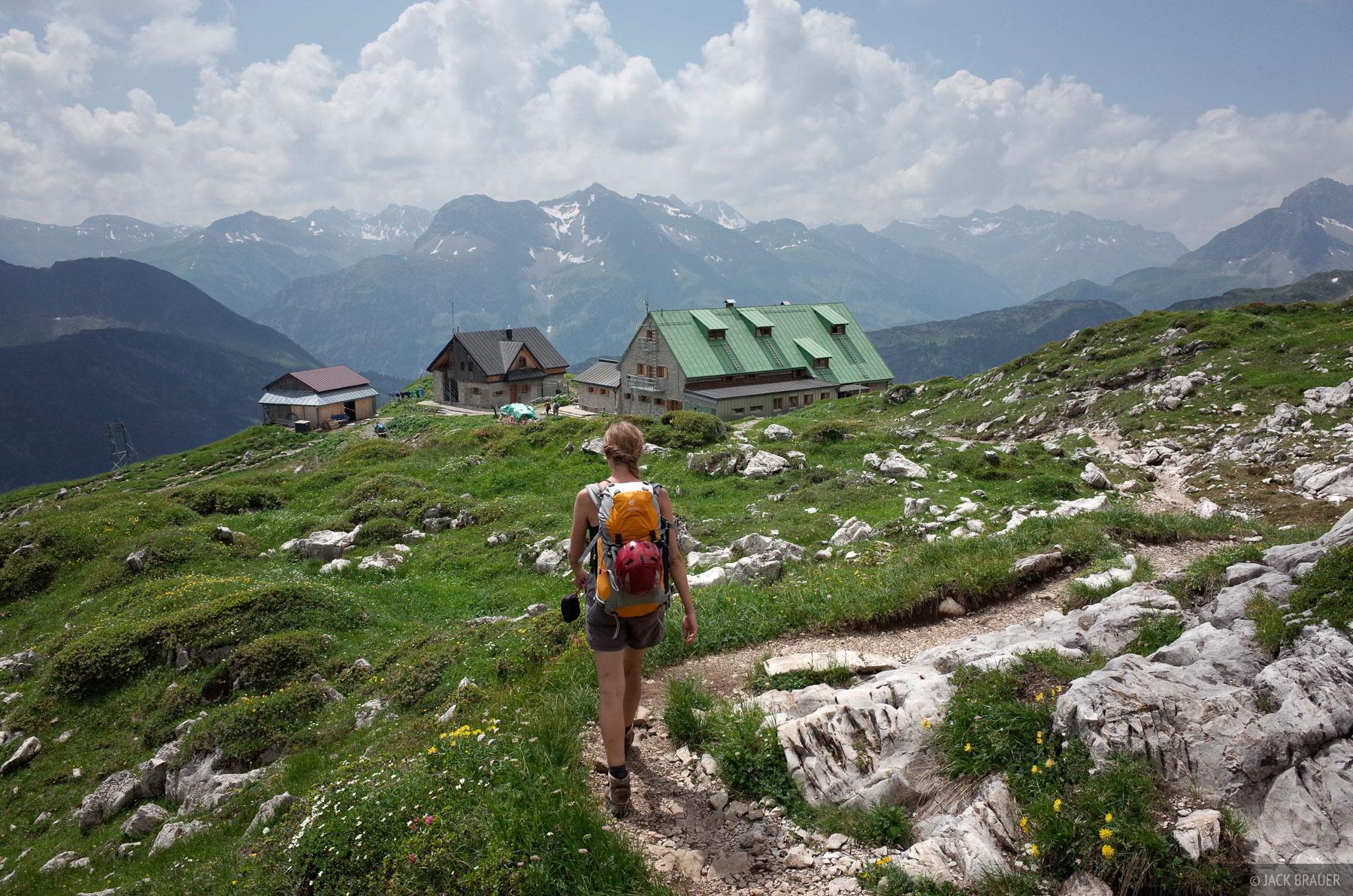 Allgäuer Alps, Germany, Mindelheimer, hut, Alps, photo