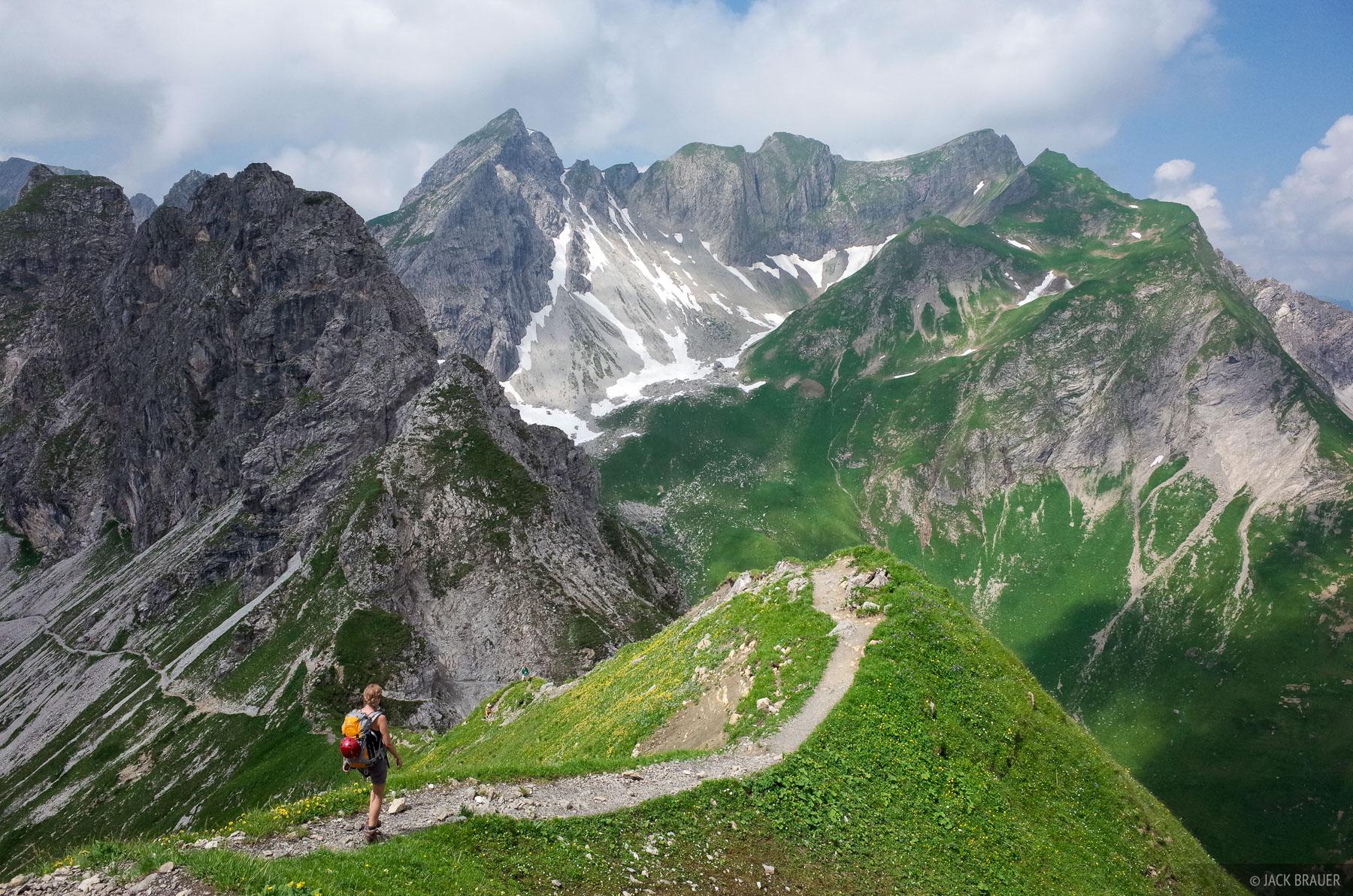 Allgäuer Alps, Germany, Mindelheimer, Klettersteig, Alps, photo
