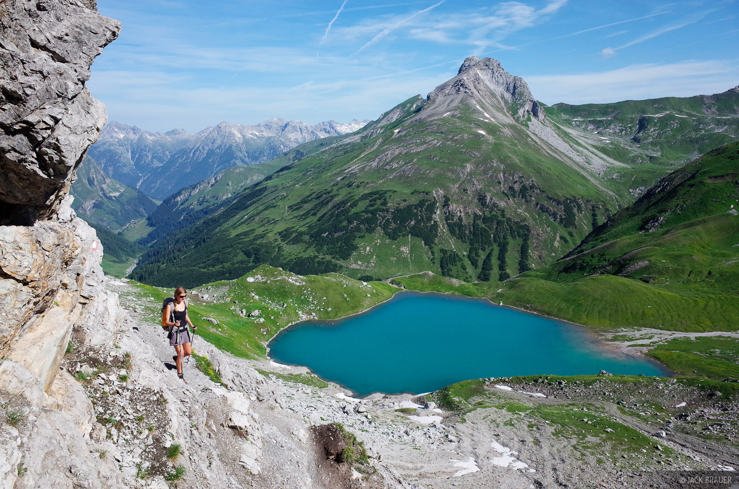 Hintersee, Lechtal Alps, Austria, hiking, photo
