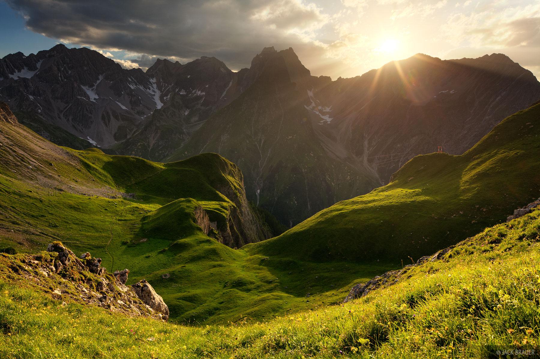 Lechtal Alps, Austria, Memminger H, photo