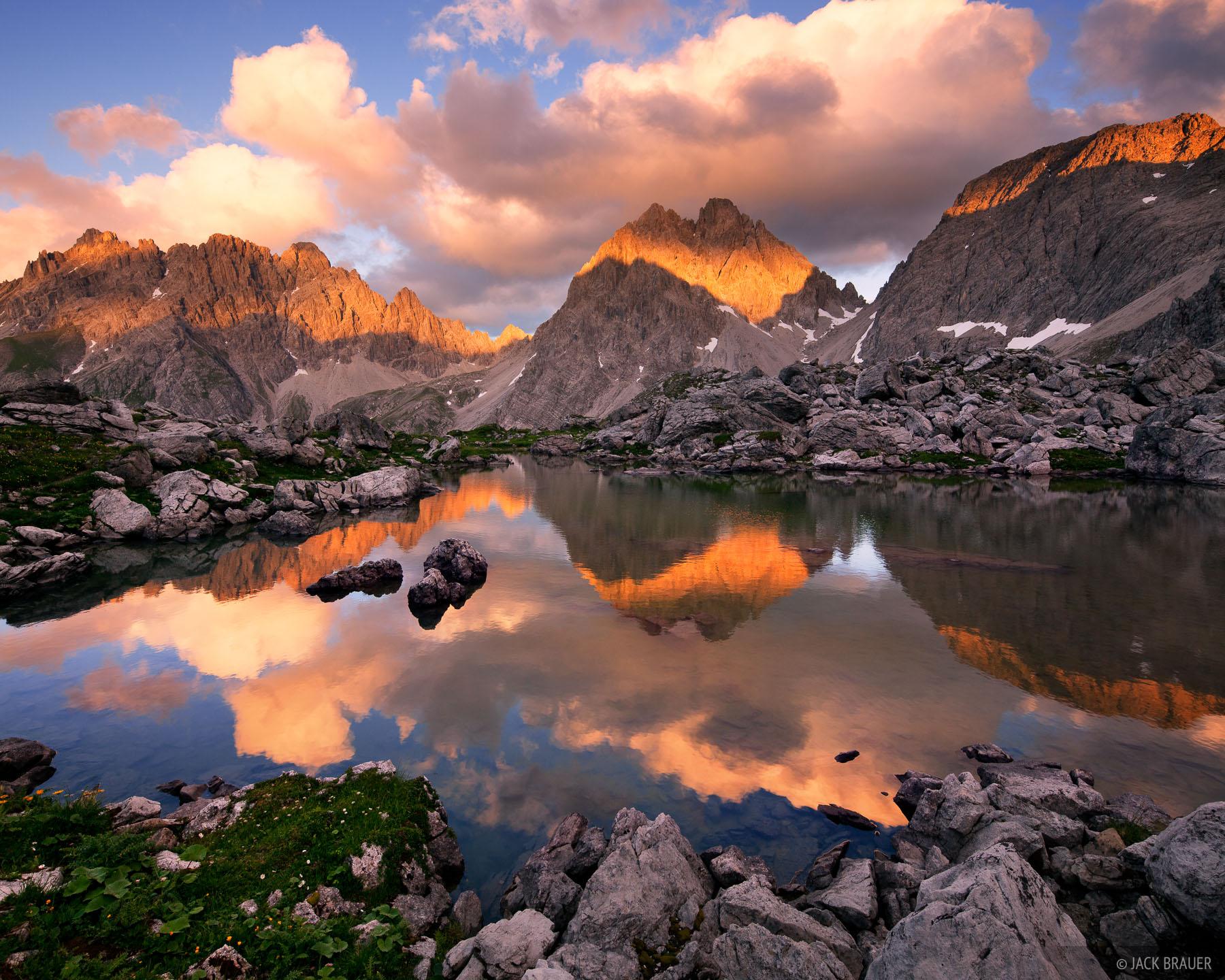 Lechtal Alps, Austria, Dremelspitze, Hanauer H, photo