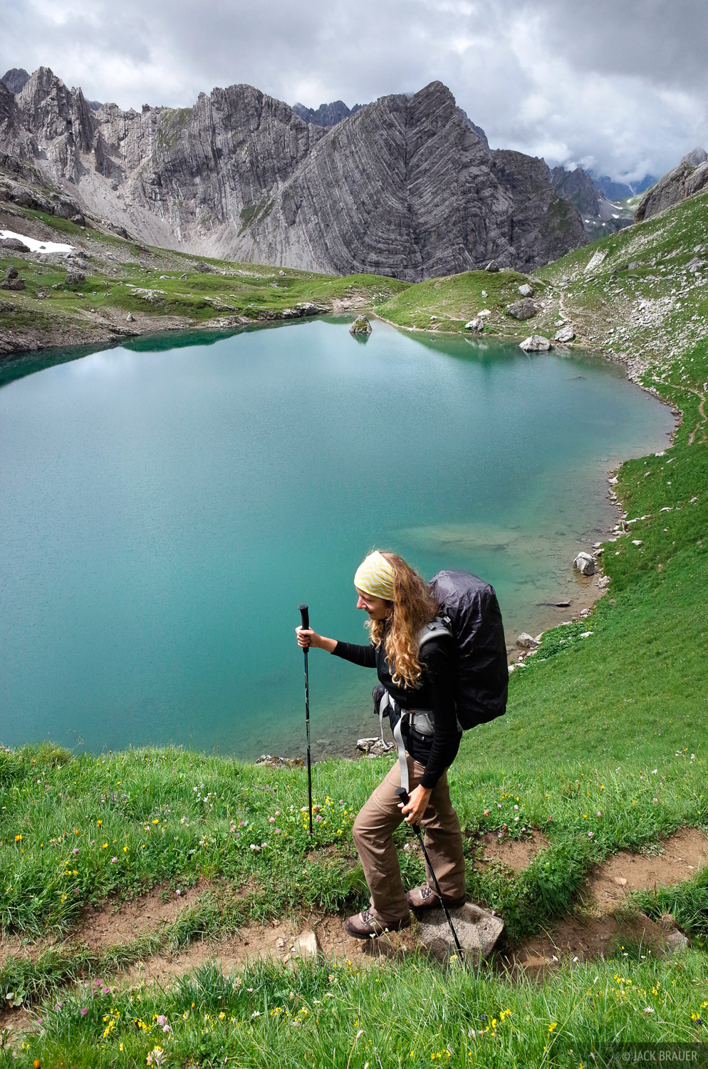 Lechtal Alps, Austria, hiking, Gutelsee, photo