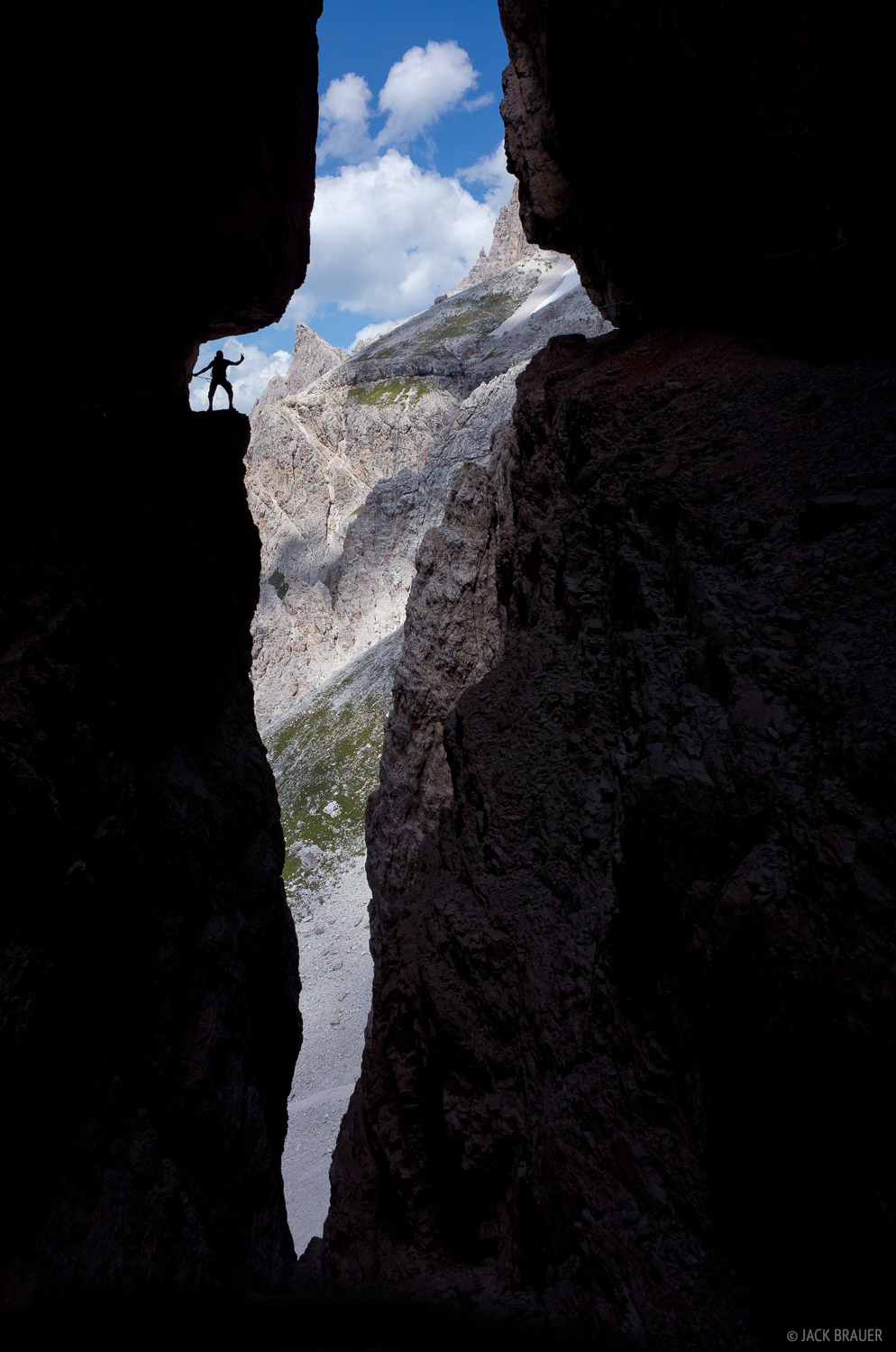 Dolomites, Italy, via ferrata, Salvezza, Strada degli Alpini, photo