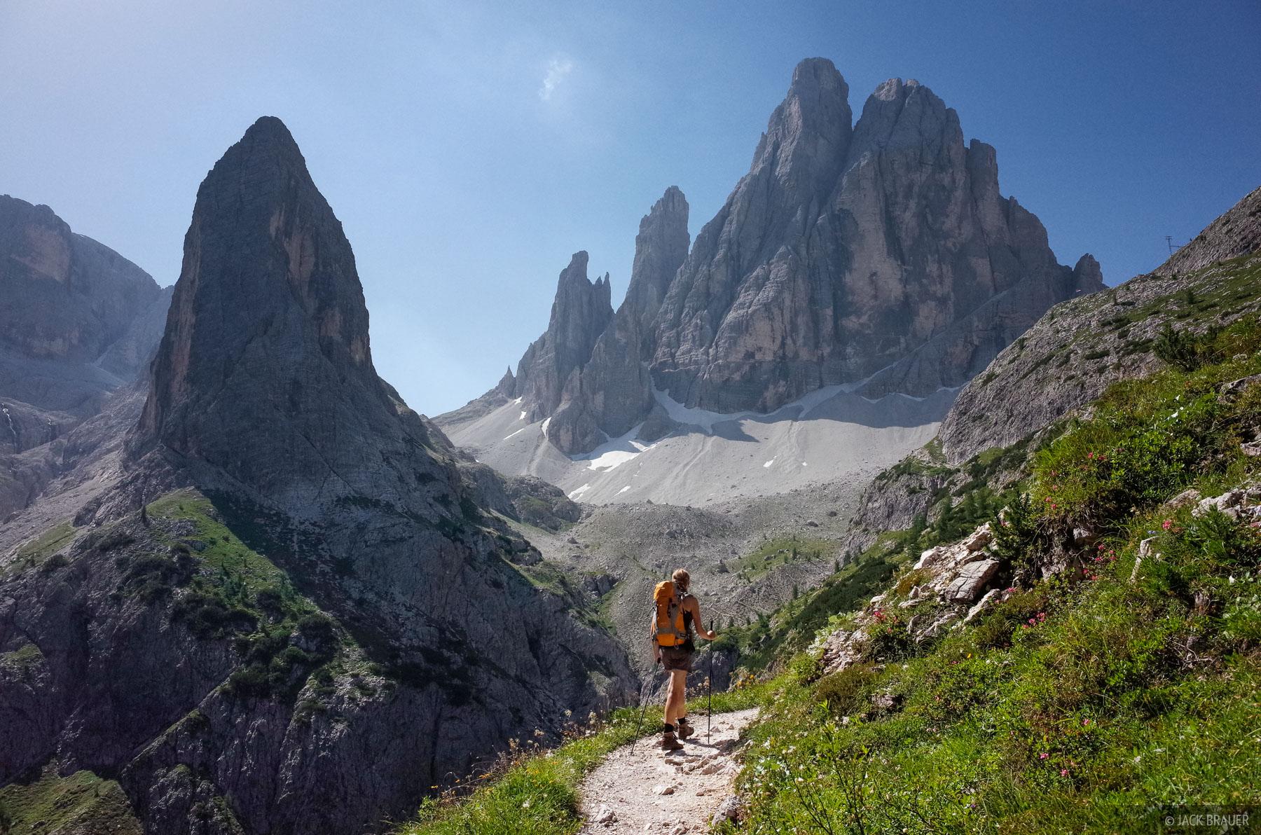 Dolomites, Italy, Zwolferkofel, Strada degli Alpini, photo
