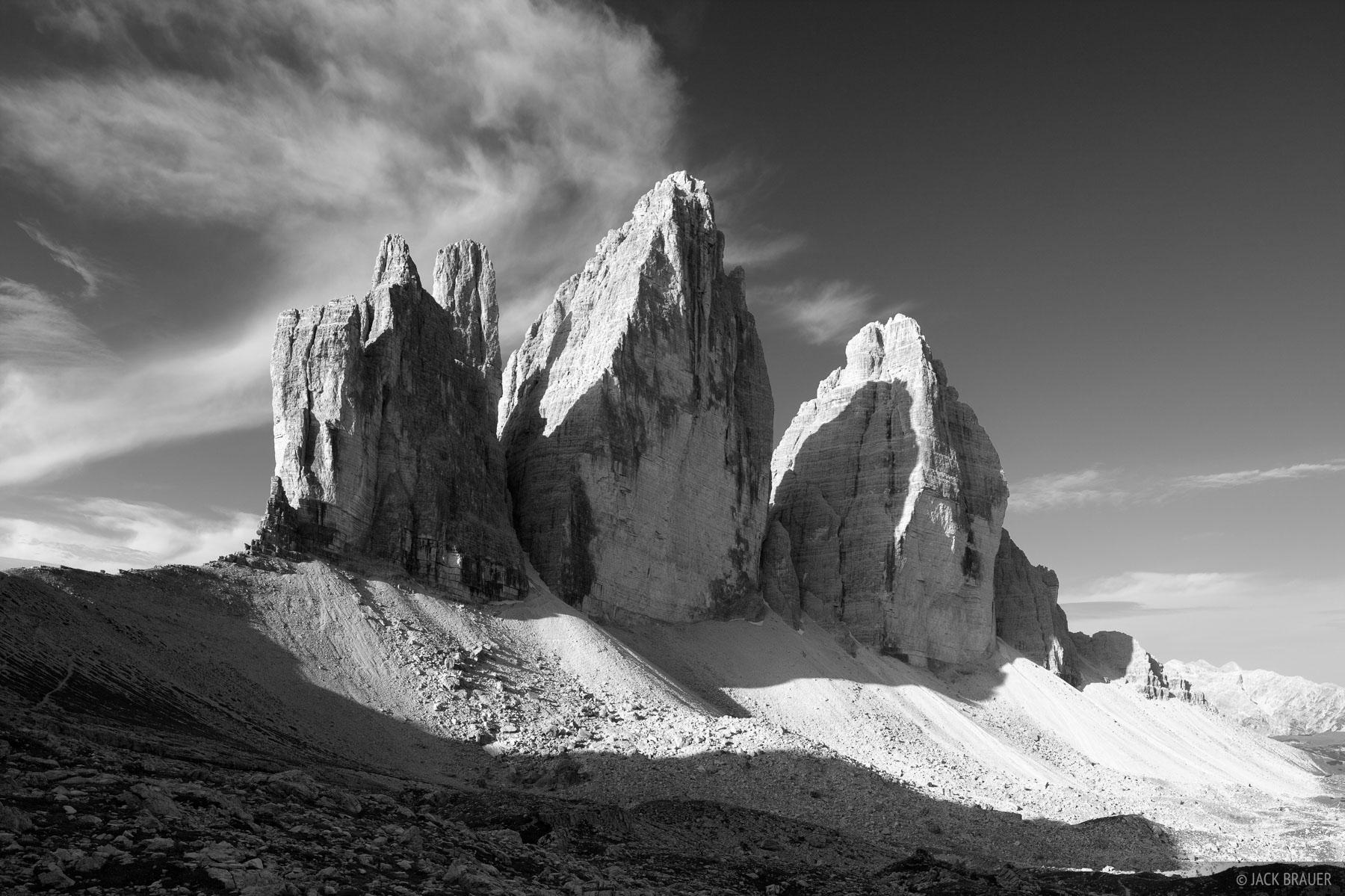 Dolomites, Italy, Tre Cime, photo