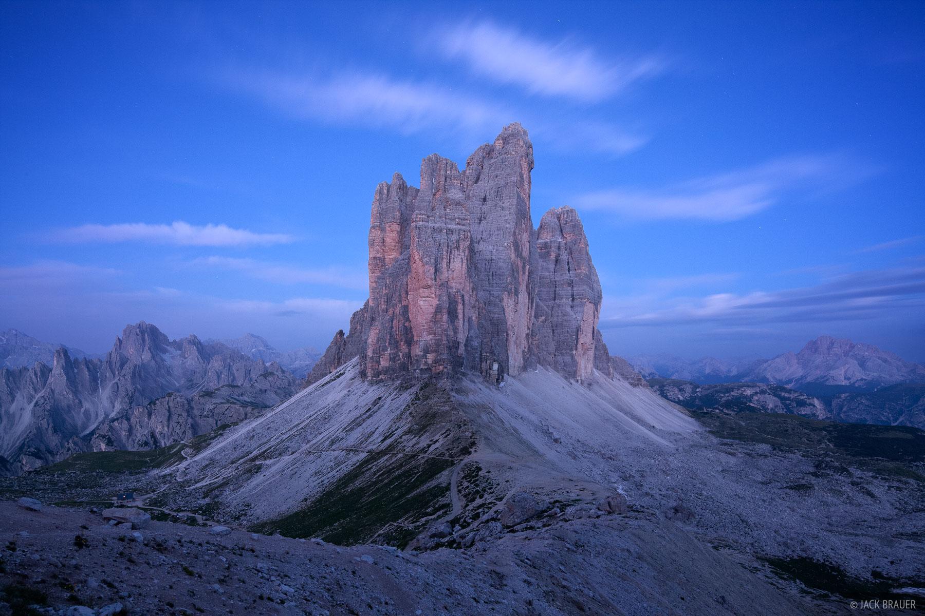 Dolomites, Italy, Tre Cime, Lavaredo, Drei Zinnen, Alps, photo