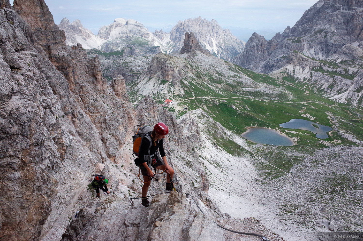 Dolomites, Italy, via ferrata, Monte Paterno, photo