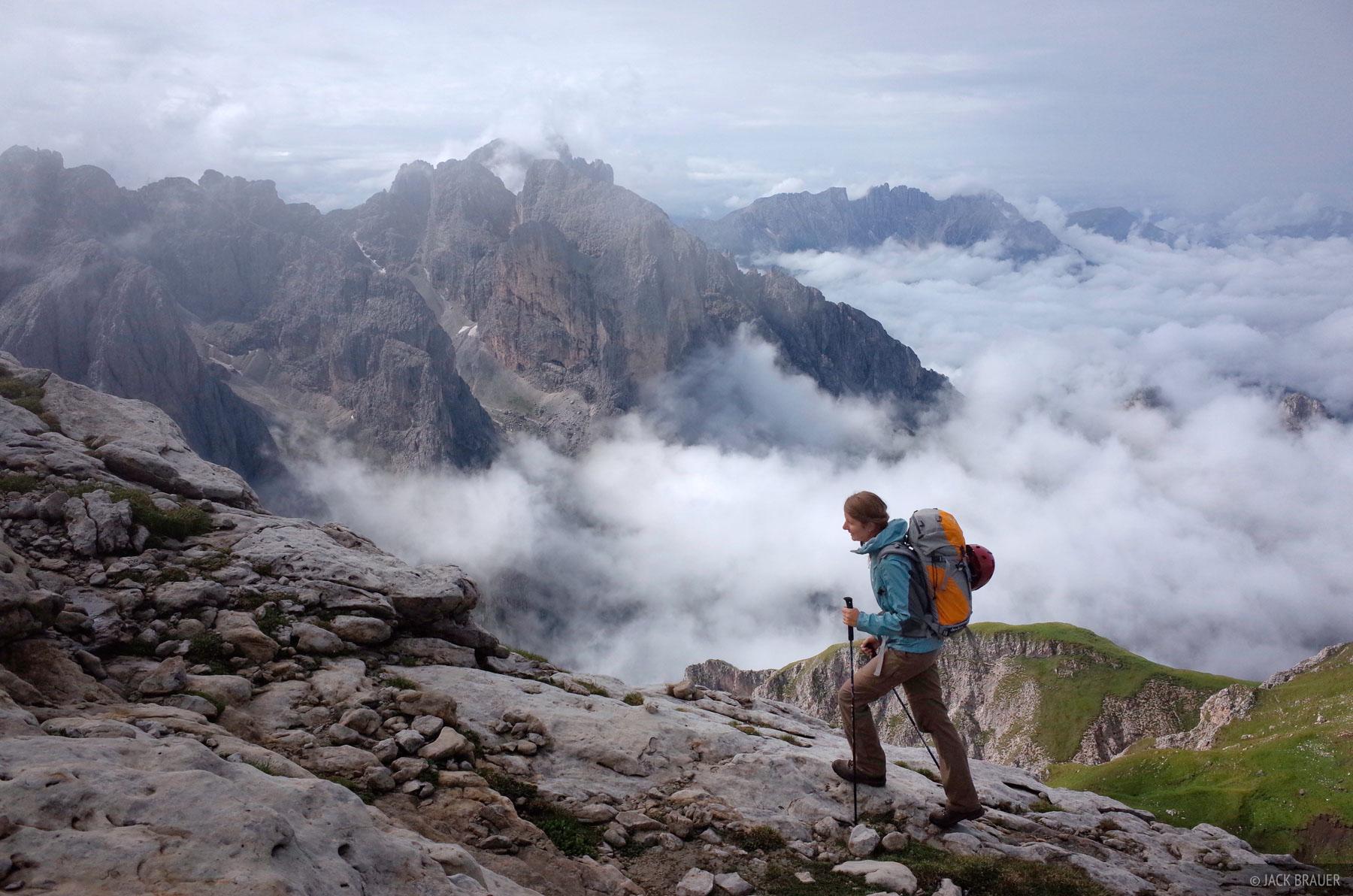 Dolomites, Italy, Rosengarten, Maximilian, Cima di Terrarosa, hiking, photo